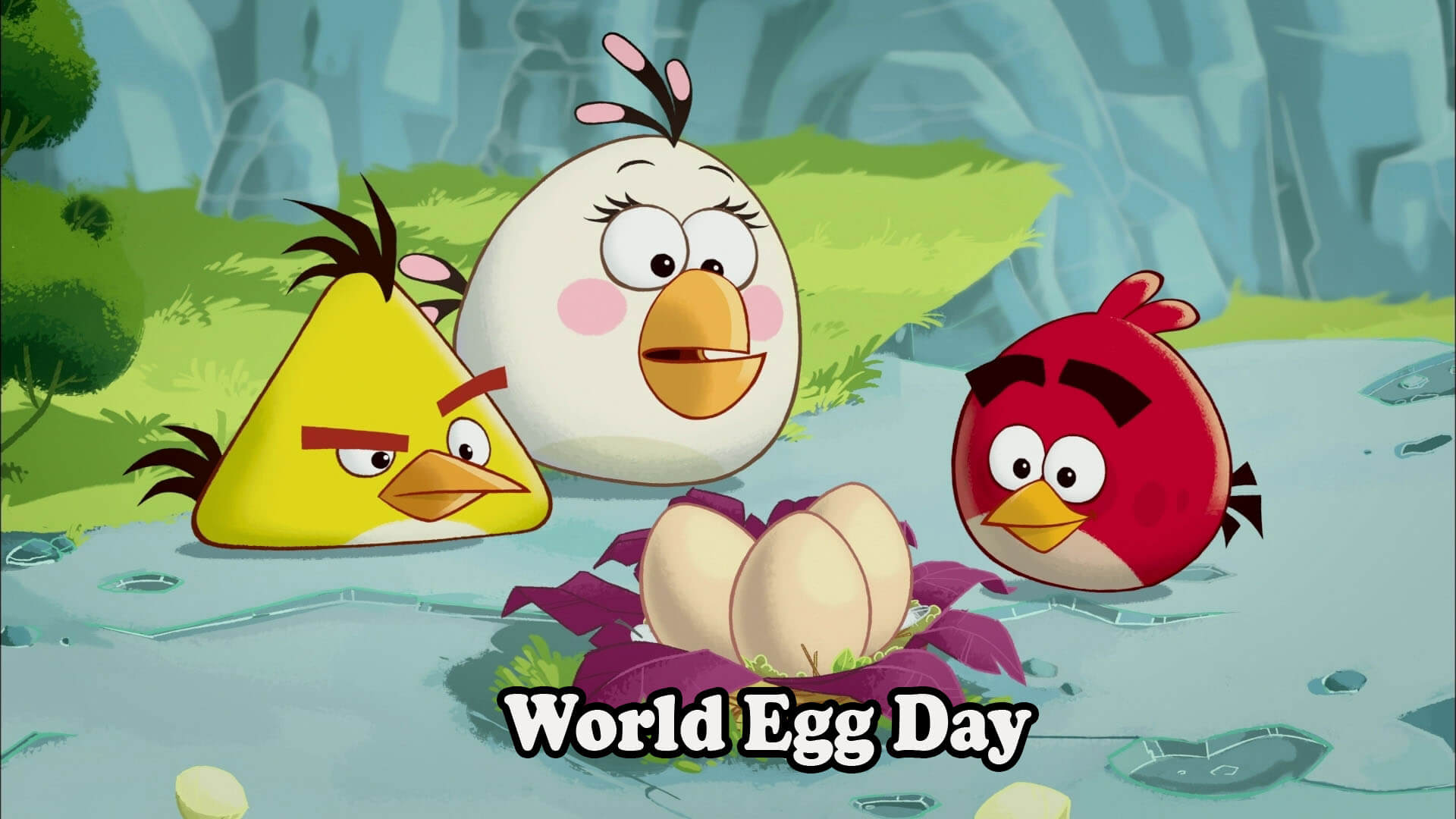 world egg day angry birds hatching red chuck pc mobile hd wallpaper