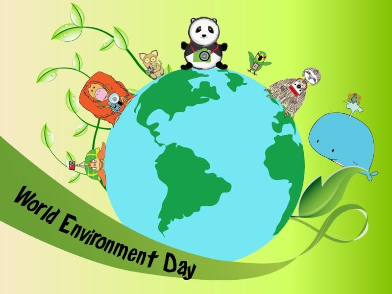 world environment day cartoons wallpaper