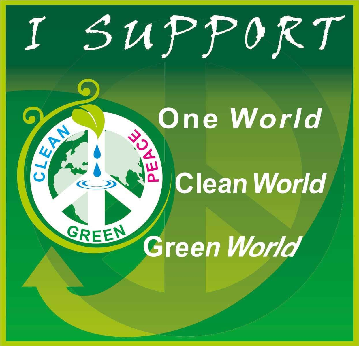 world environment day clean green peace