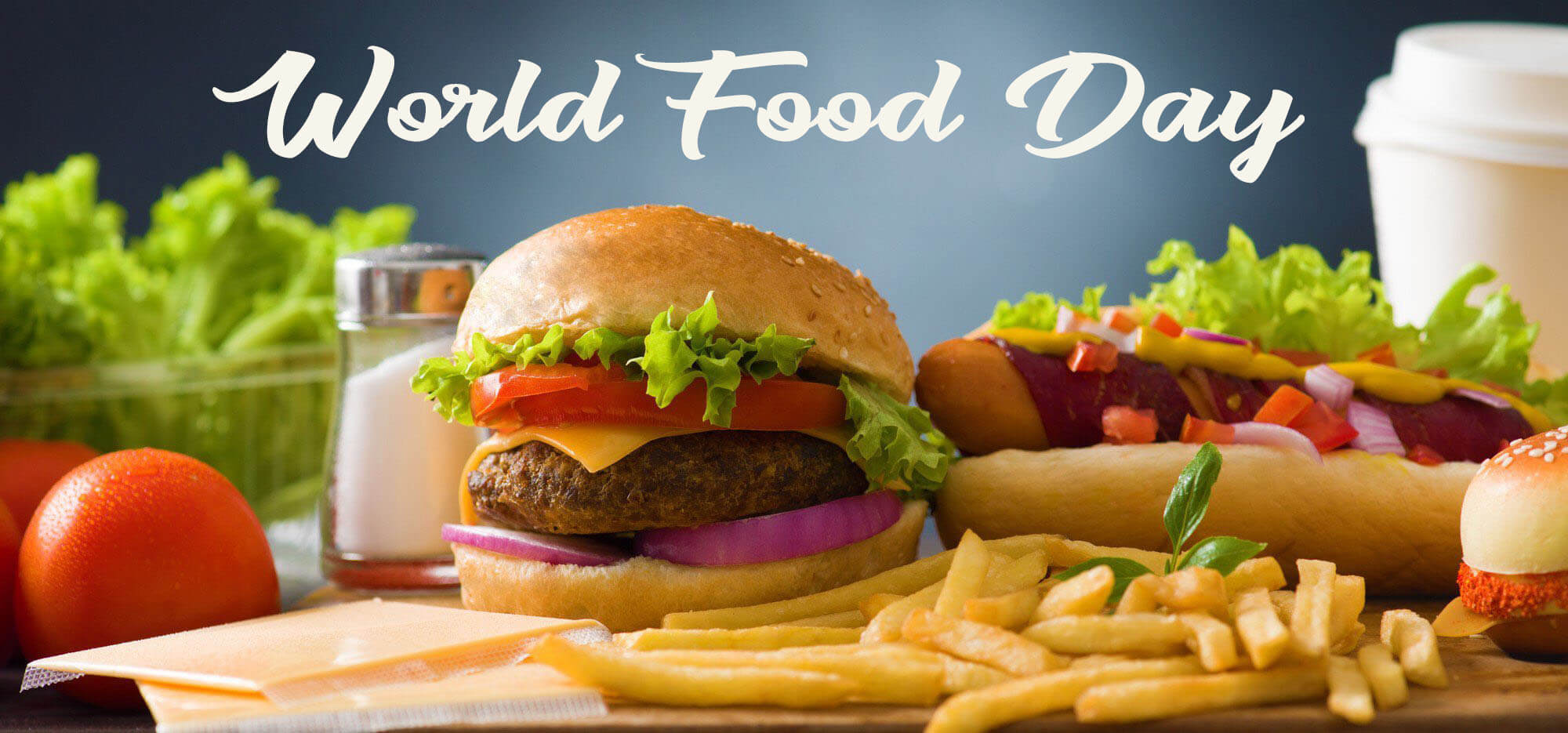 world food day october 16 burger french fries hd wallpaper