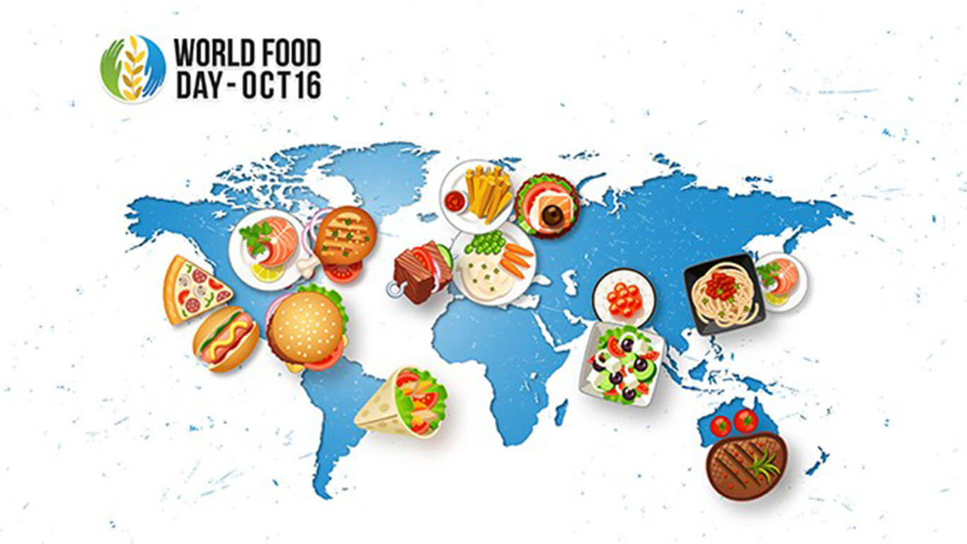 world food day october 16 map wallpaper