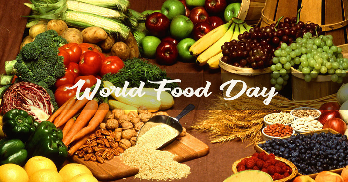 world food day october 16 vegetables grains fruits hd wallpaper