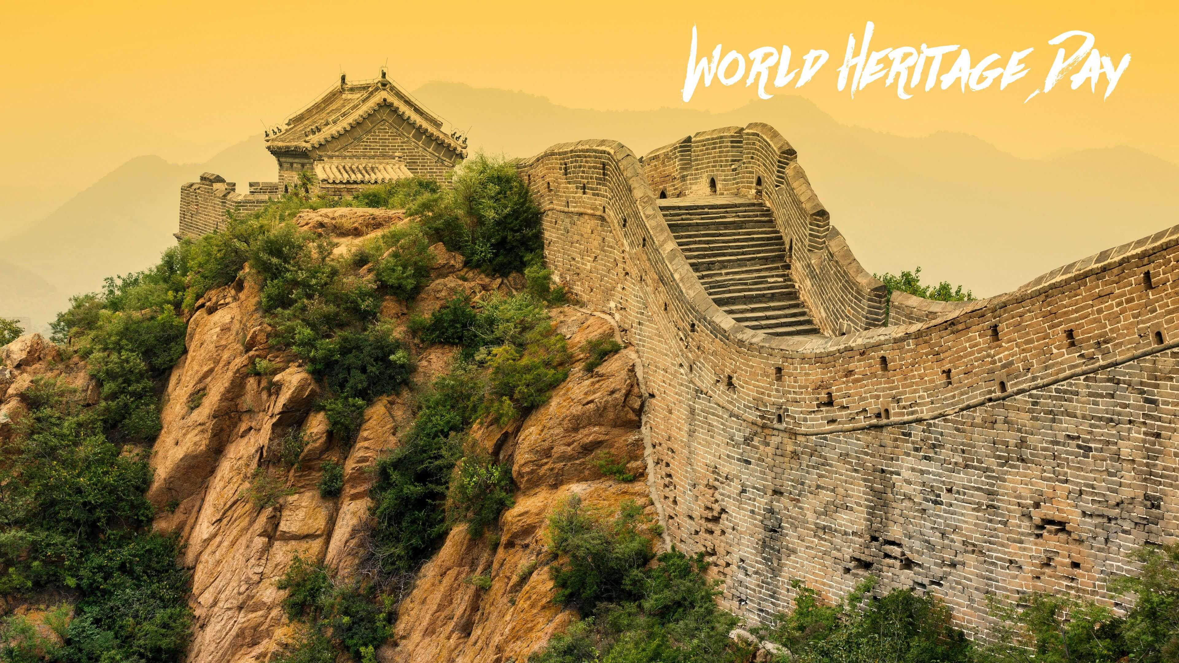 world heritage day 7 wonders great wall of china hd wallpaper