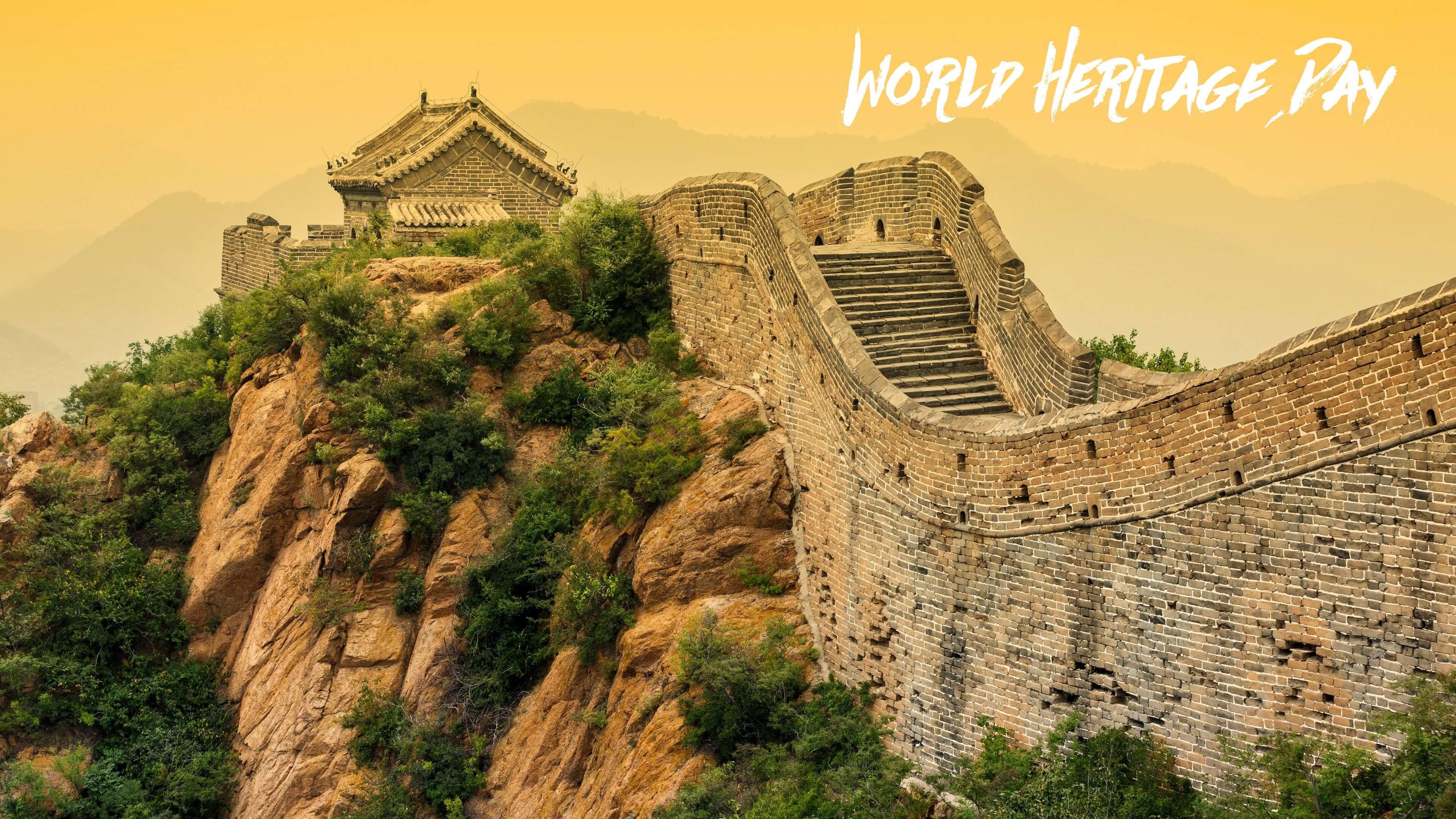 world heritage day 7 wonders great wall of china hd wallpaper