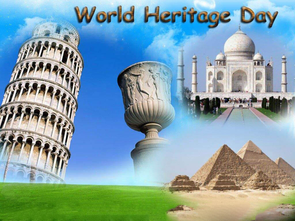 world heritage day monuments tajmahal pyramid wallpaper