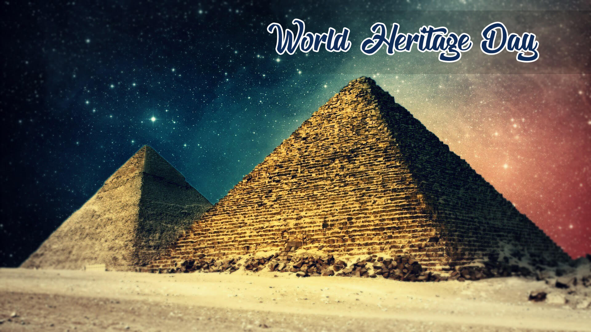 world heritage day seven 7 wonders egypt pyramid hd wallpaper