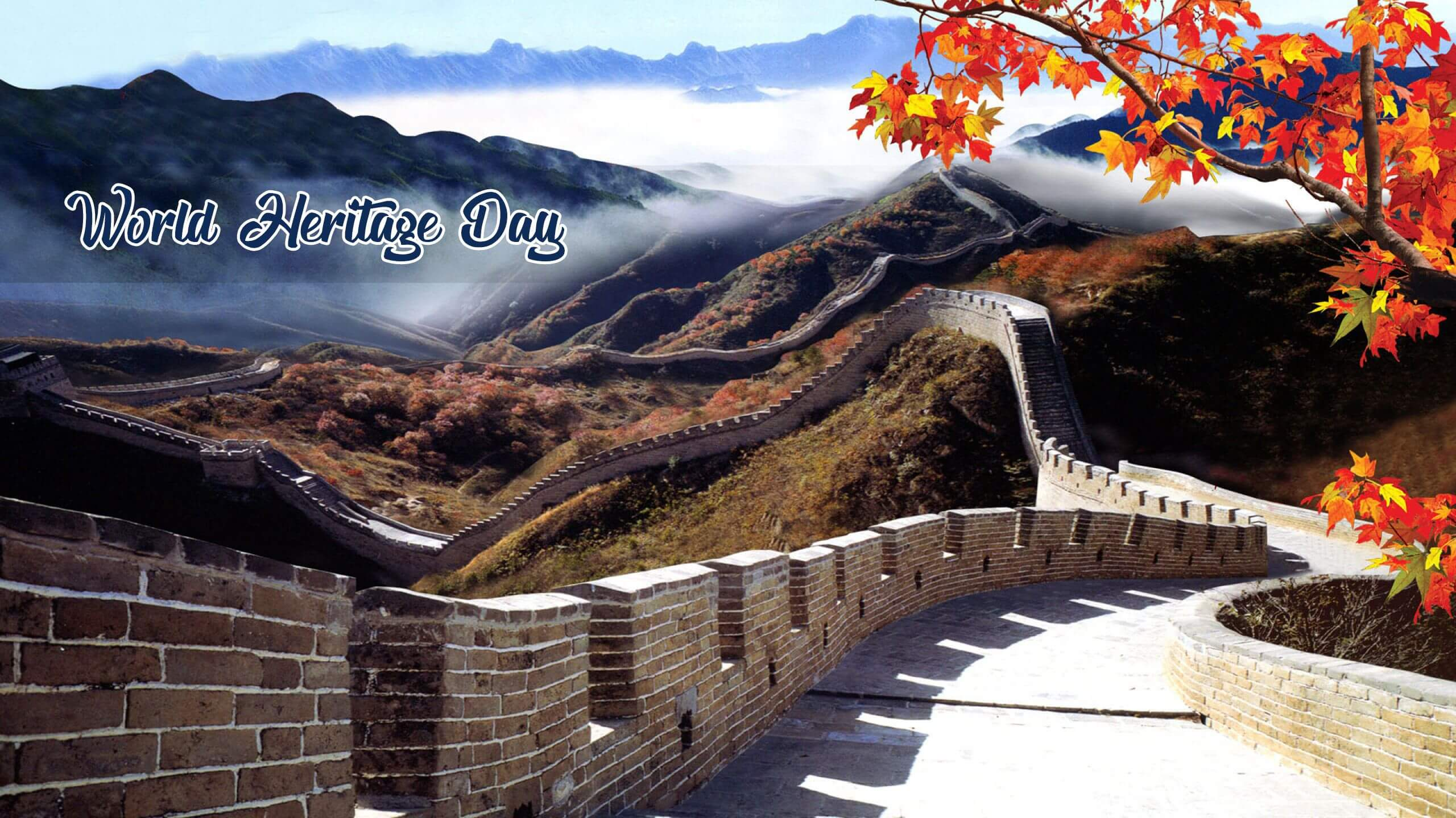 world heritage day seven wonders great wall of china hd wallpaper