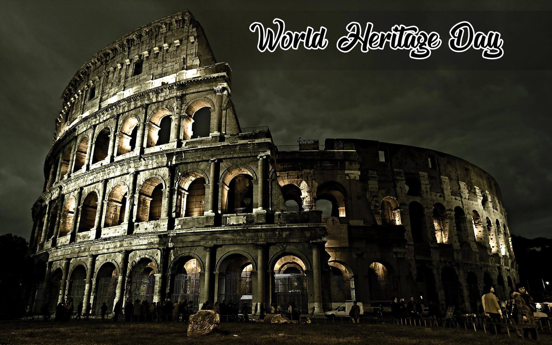 world heritage day seven wonders rome italy colosseum hd wallpaper
