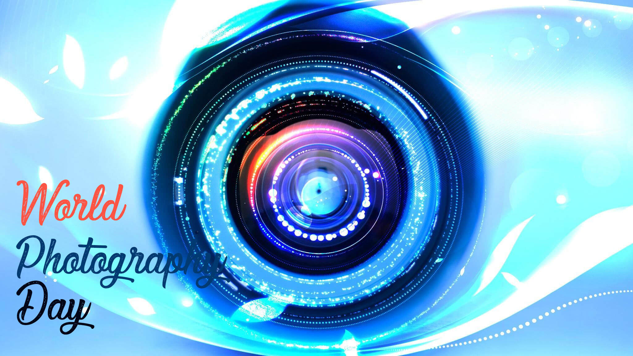 World Photography Day Camera Lens Hd Pc Wallpaper