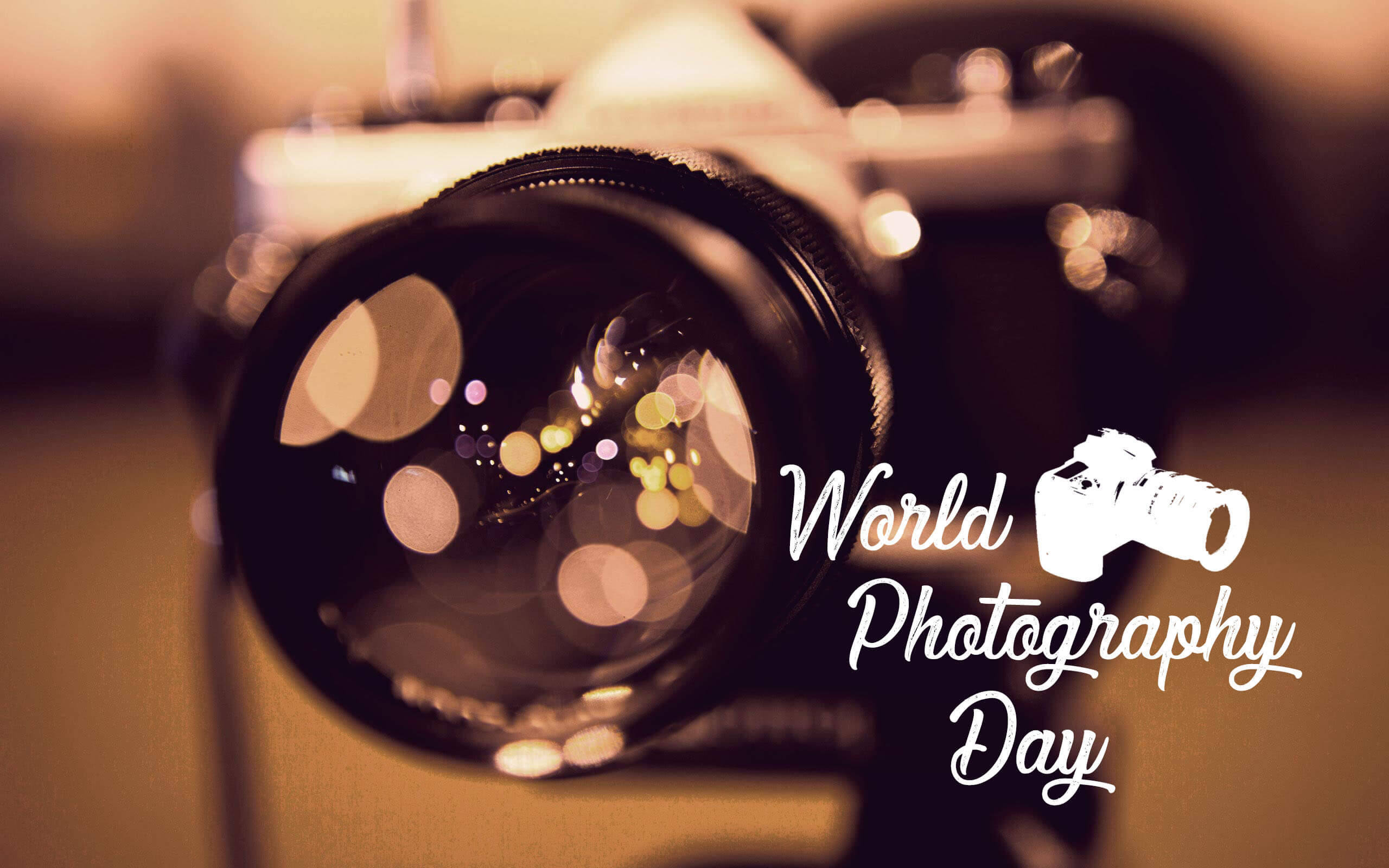 world photography day camera lens hd wallpaper