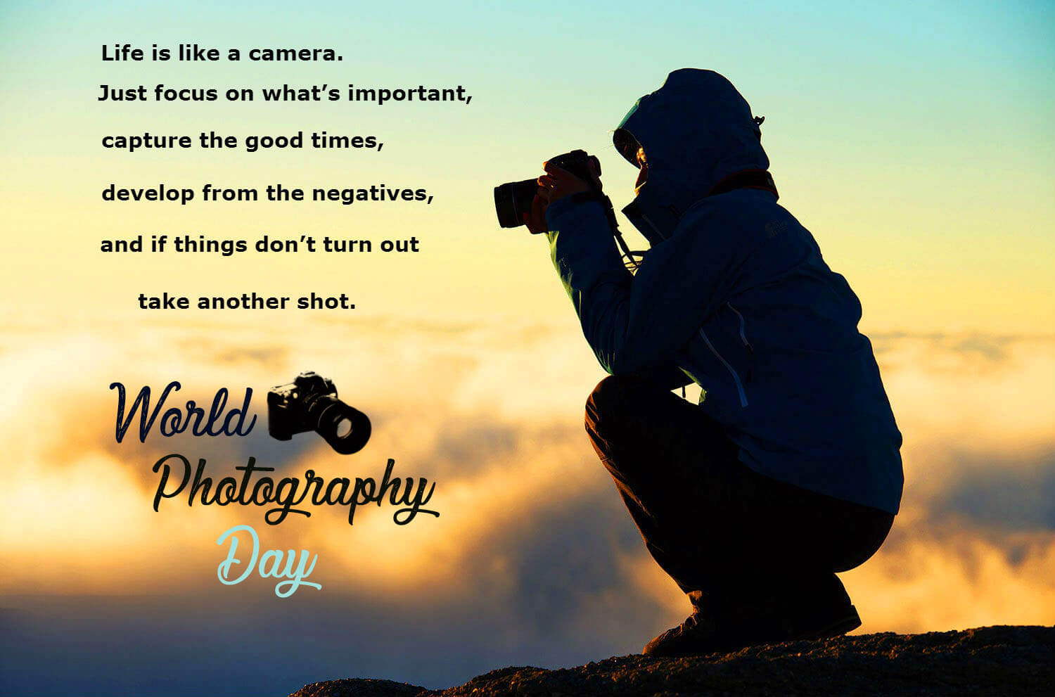 world photography day life quotes background wallpaper