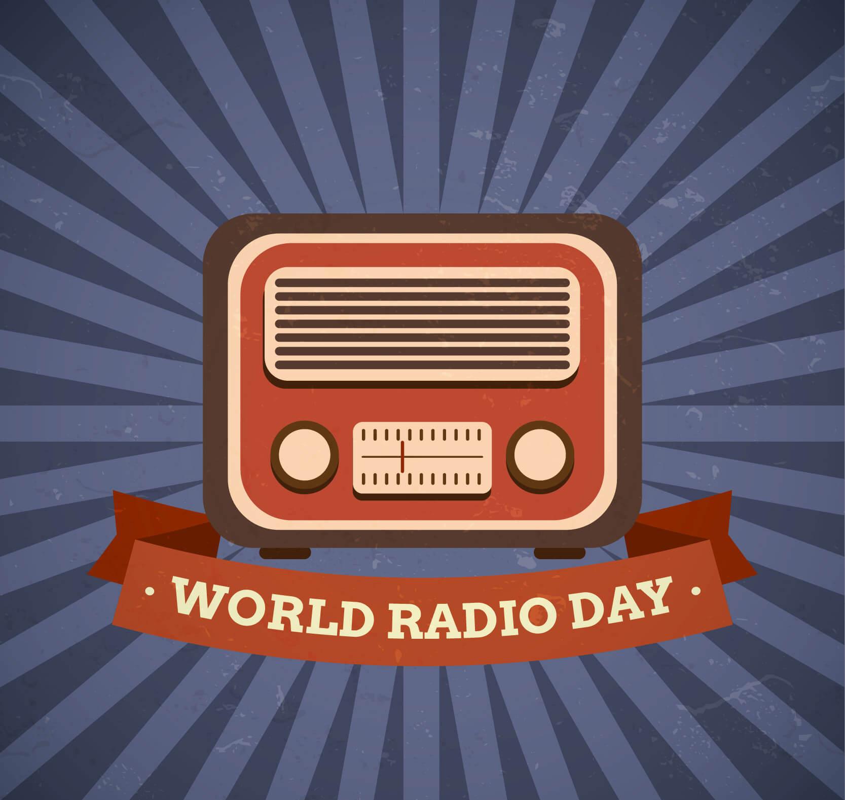 world radio day desktop background hd wallpaper
