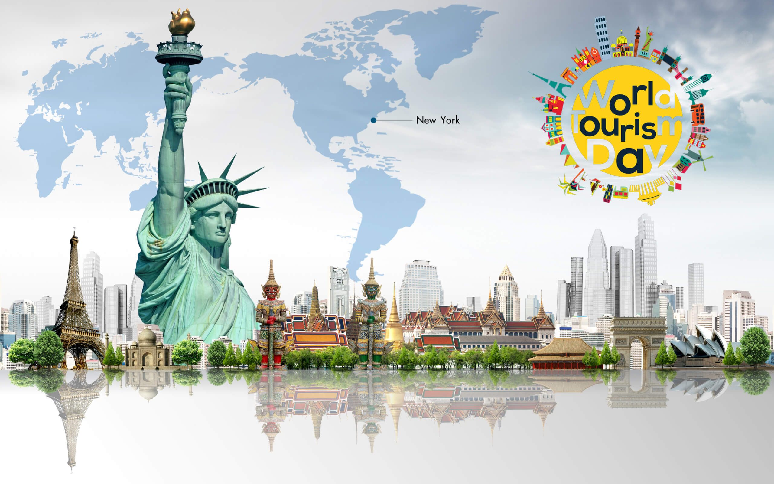 world tourism day 27 september hd wallpaper