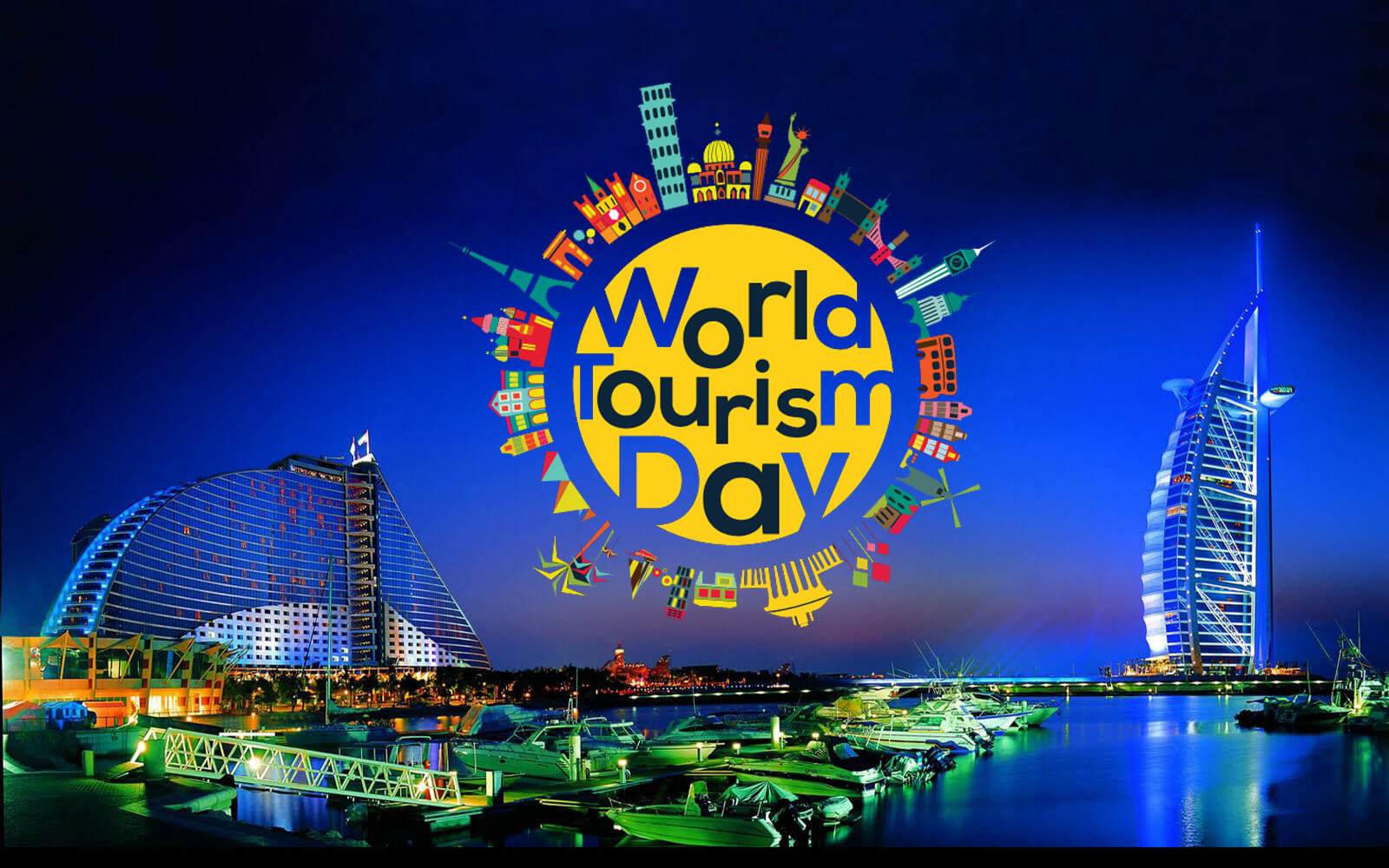 world tourism day dubai hd wallpaper