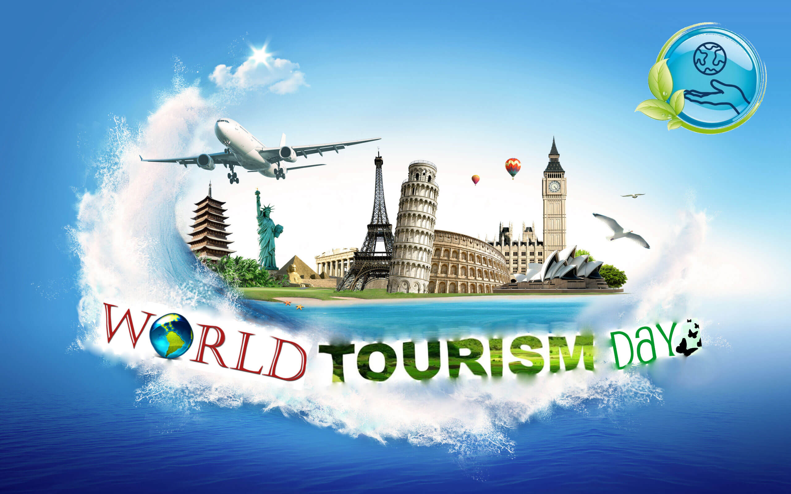 world tourism day hd wallpaper