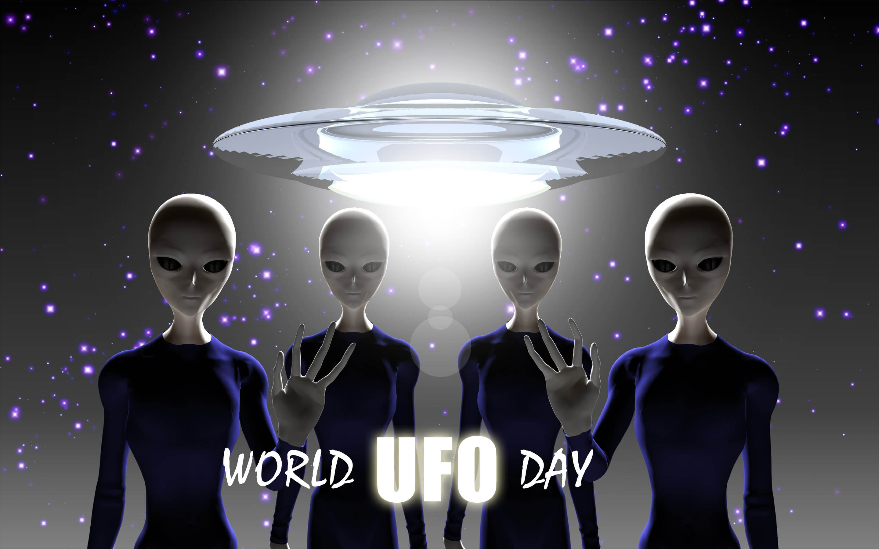 world ufo day unidentified flying object saucer aliens hd wallpaper