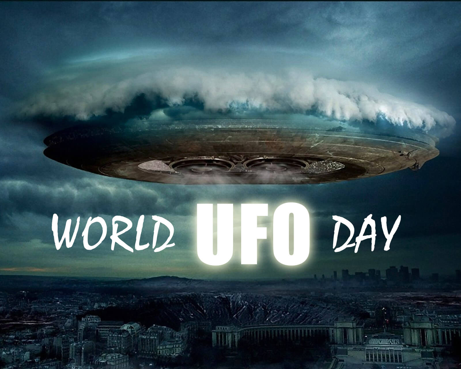 world ufo day unidentified flying object saucer july hd wallpaper