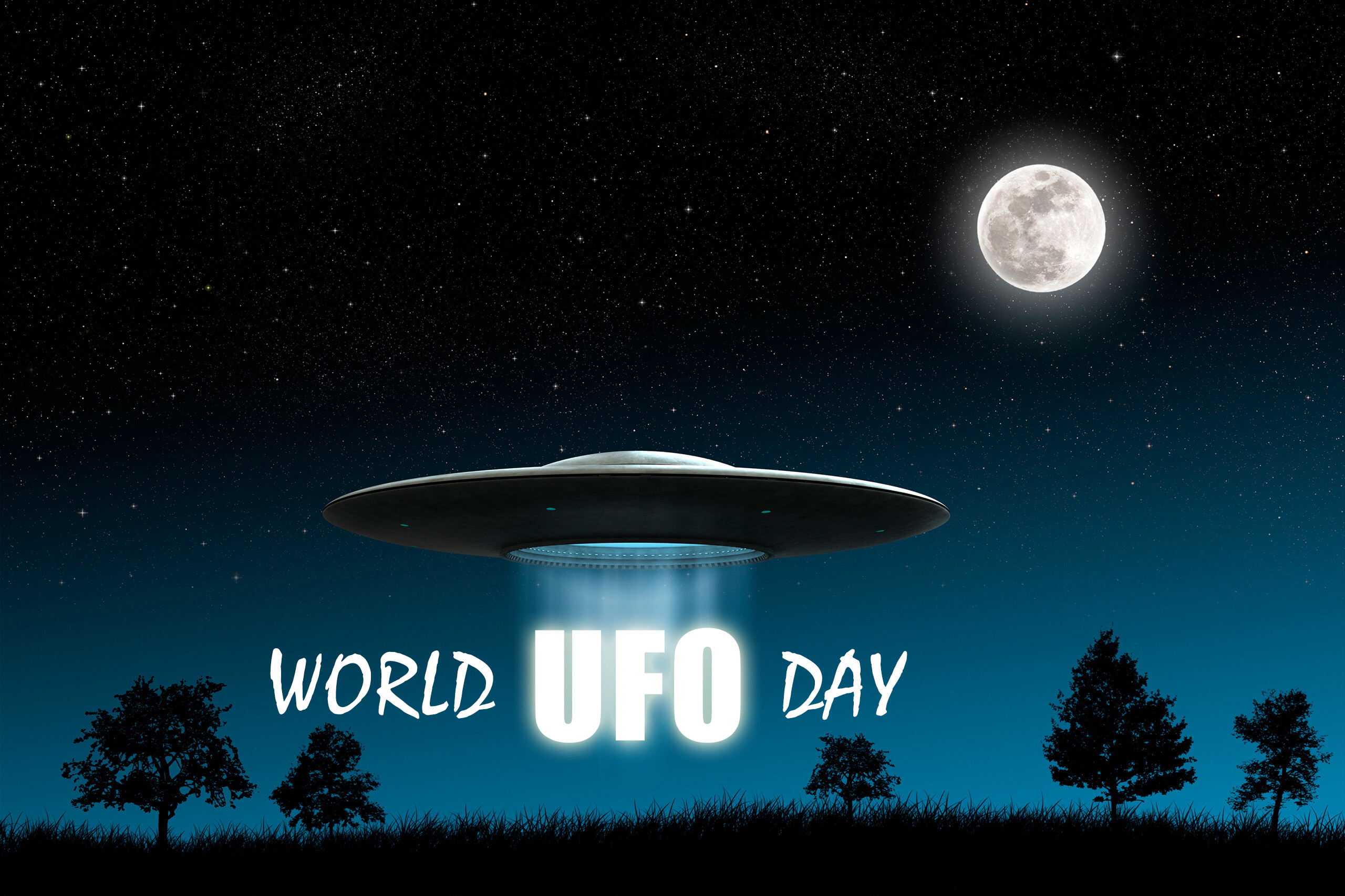 world ufo day unidentified flying object space saucer hd wallpaper