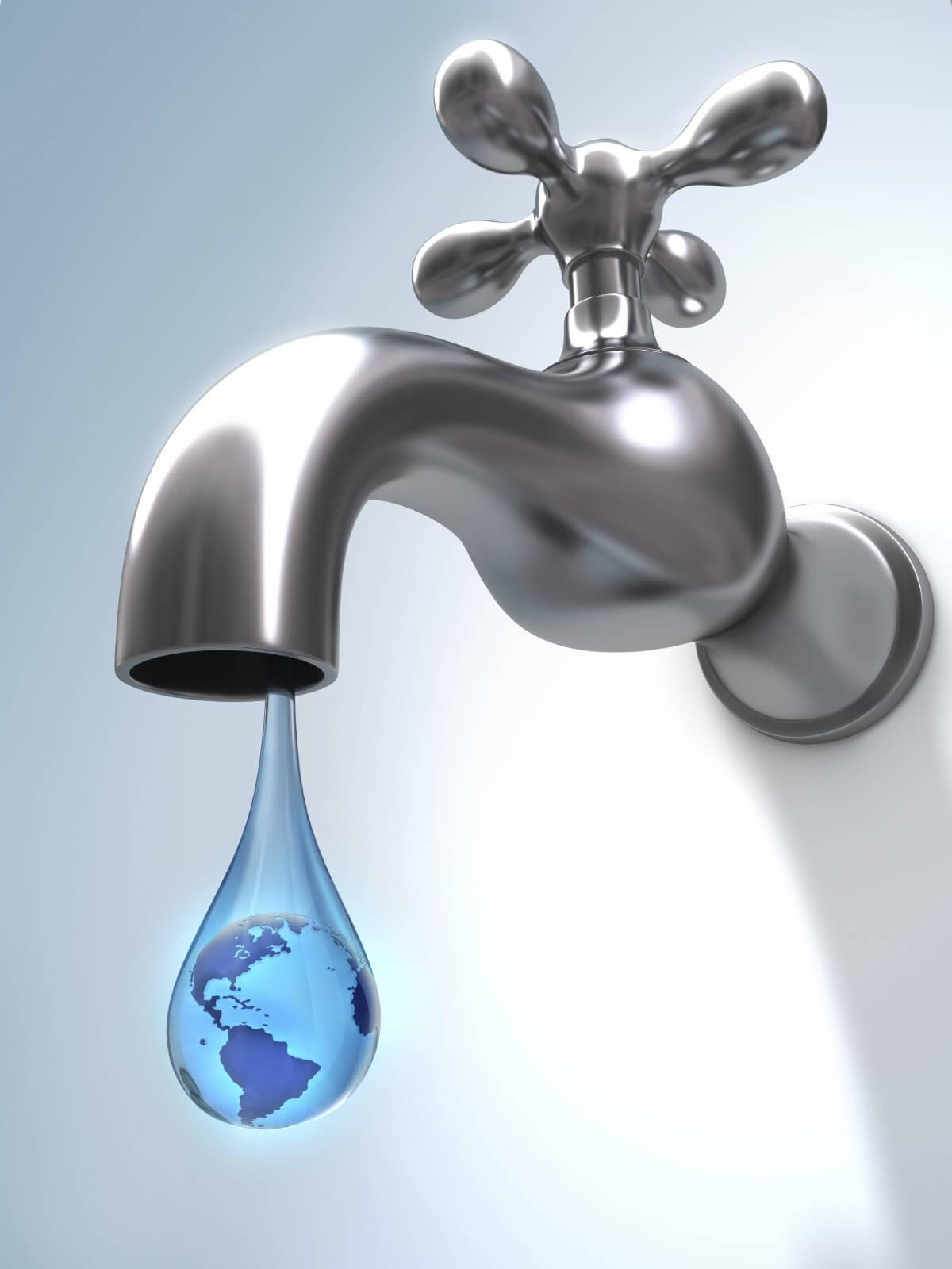 world water day desktop save water world