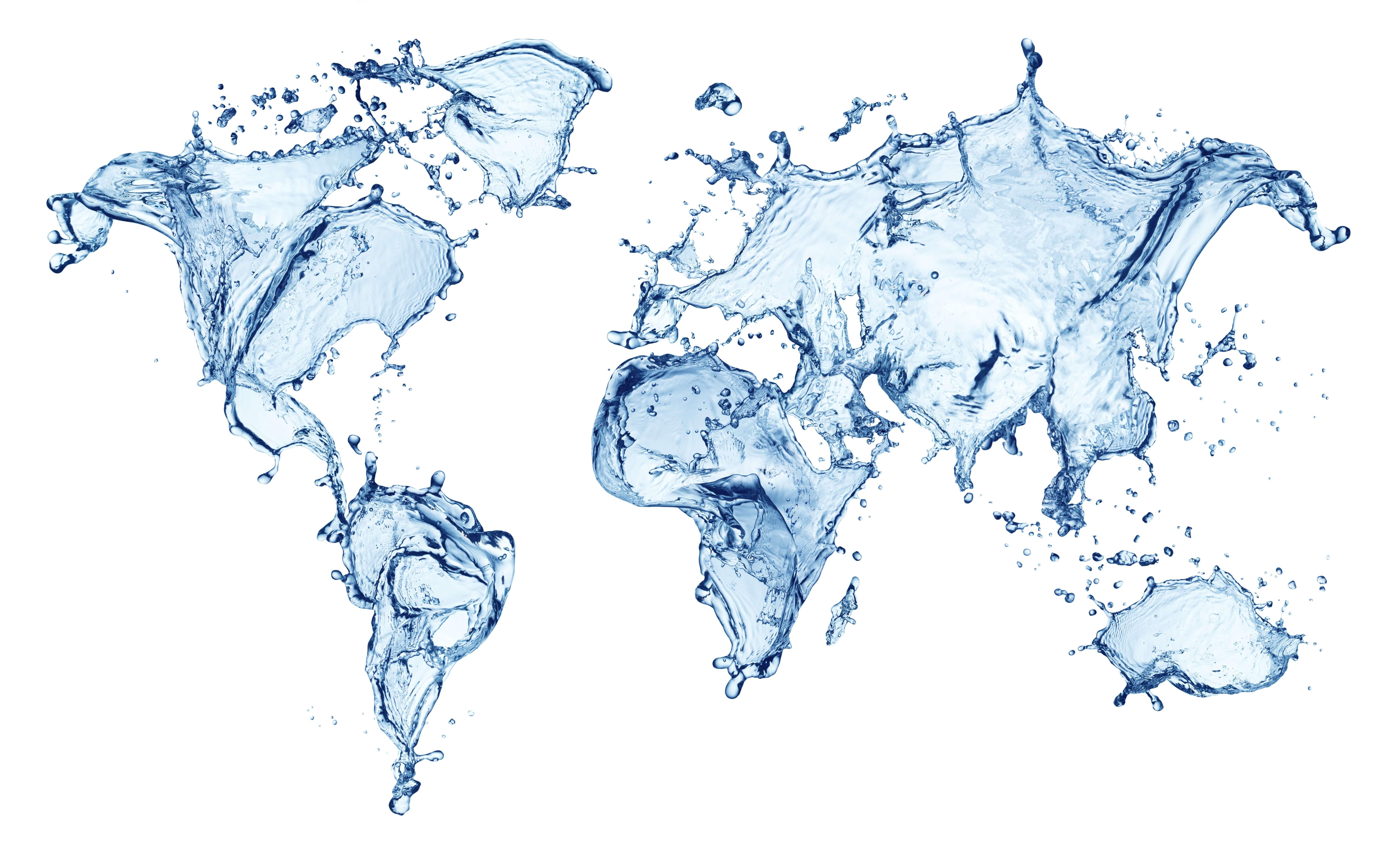 world water day map hd desktop