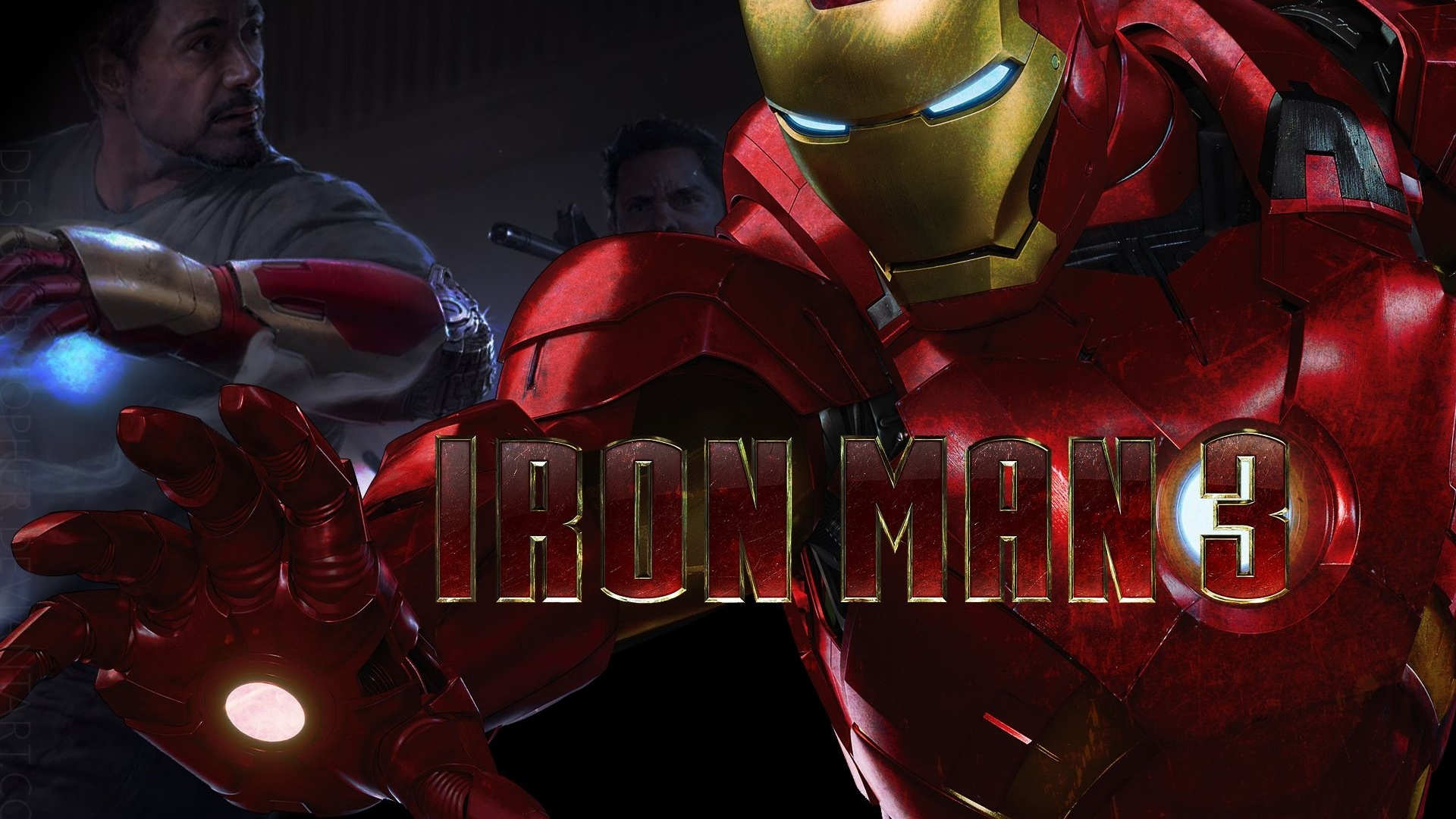 2013 movie iron man 3 wallpaper