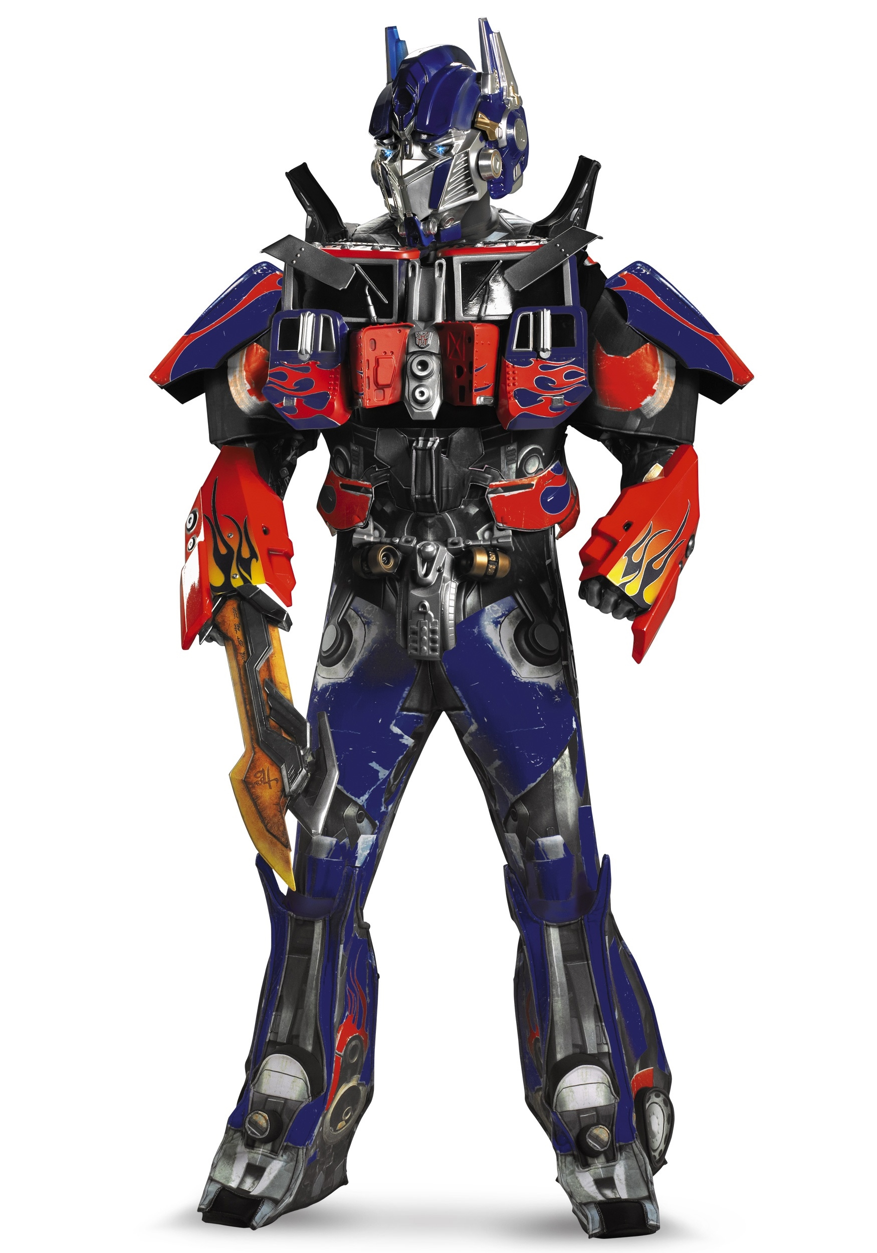 adult optimus prime costume wallpaper