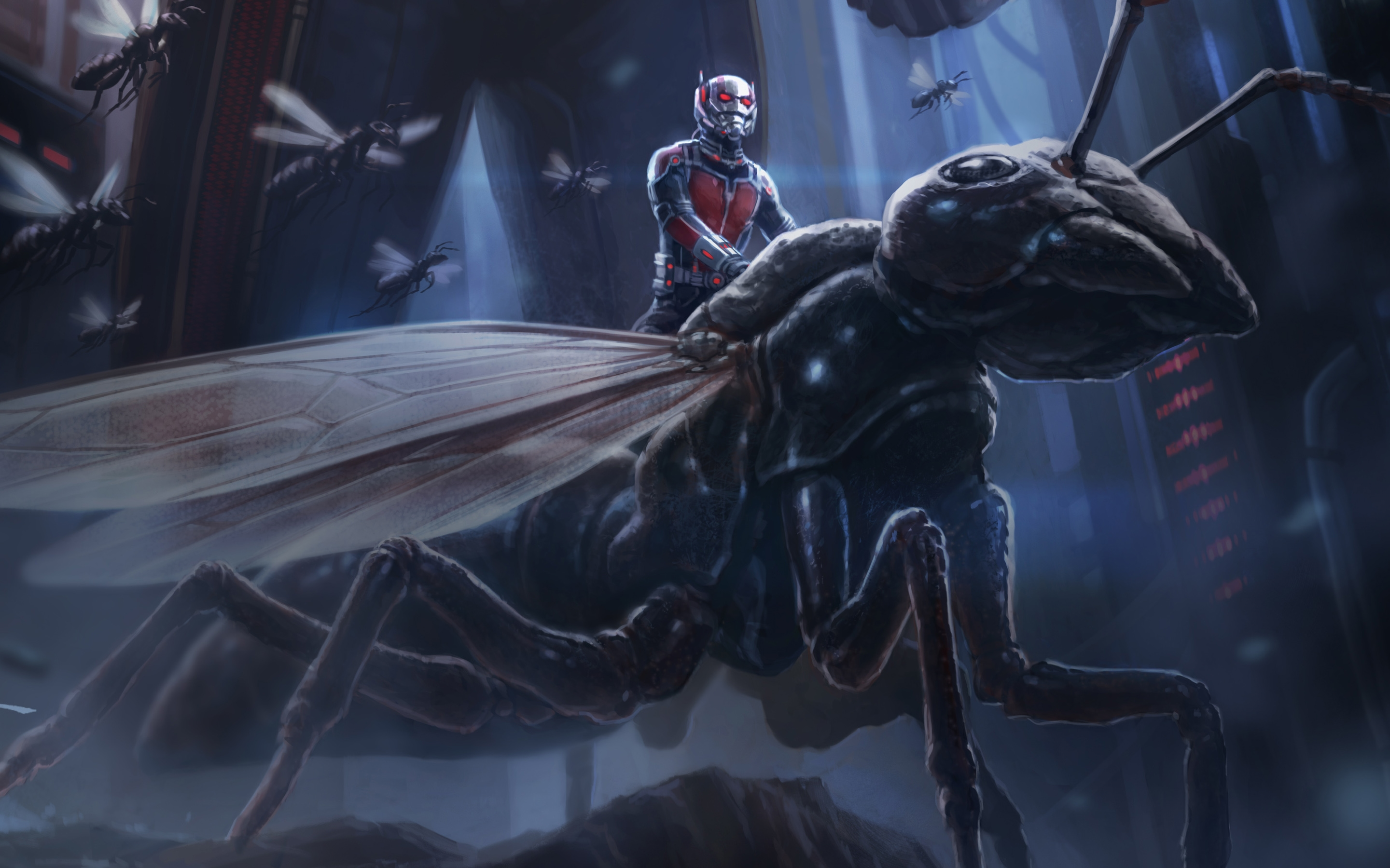 ant man and fly