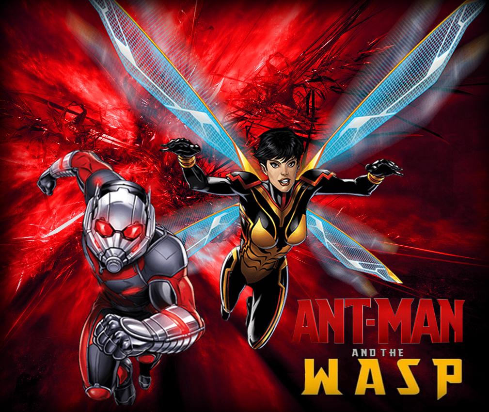 ant man and wasp marvel super hero cartoon hd image