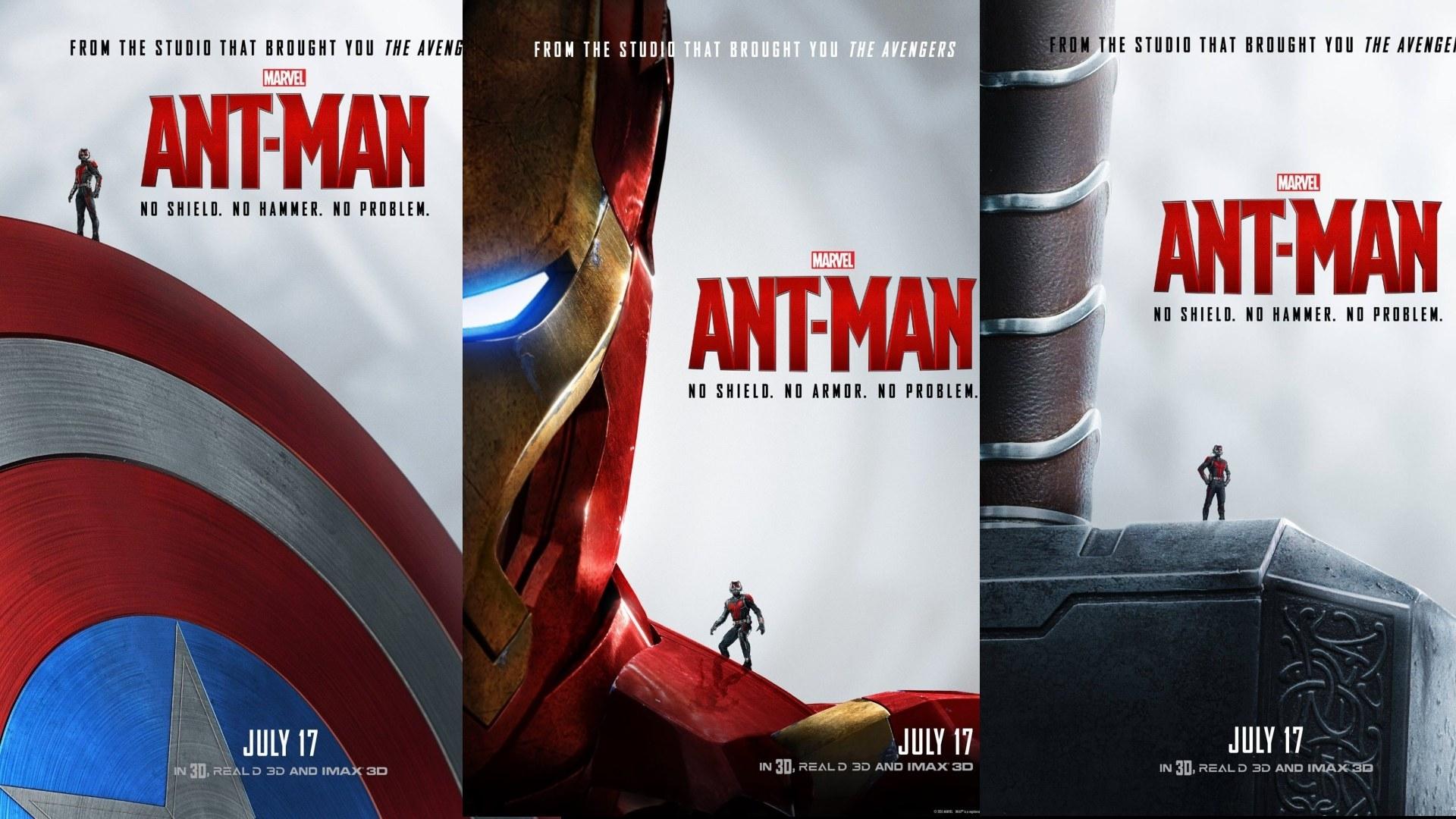 ant man avengers poster