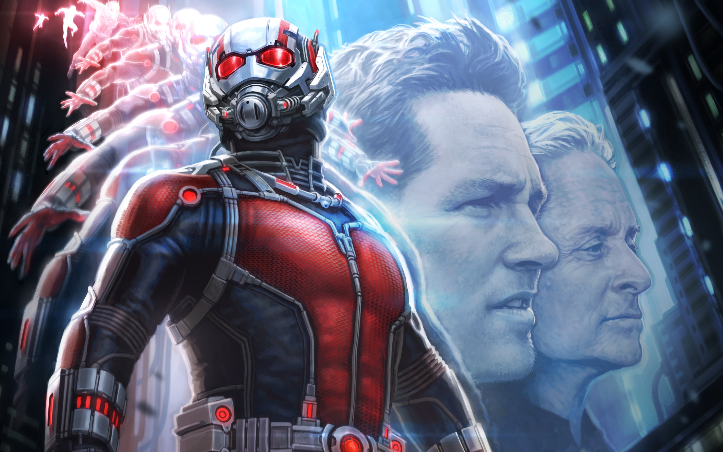 ant man concept art wallpaper