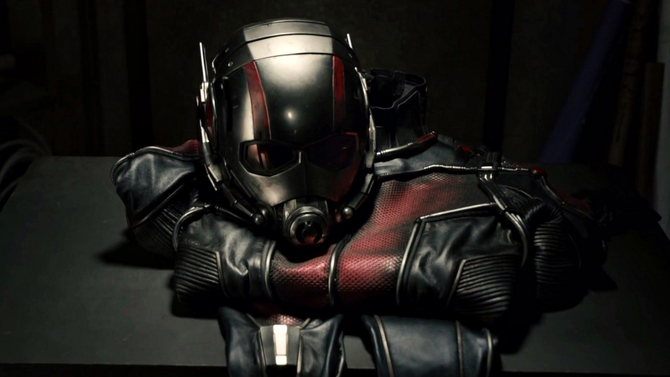 Ant Man Mask And Costume Hd Wallpaper