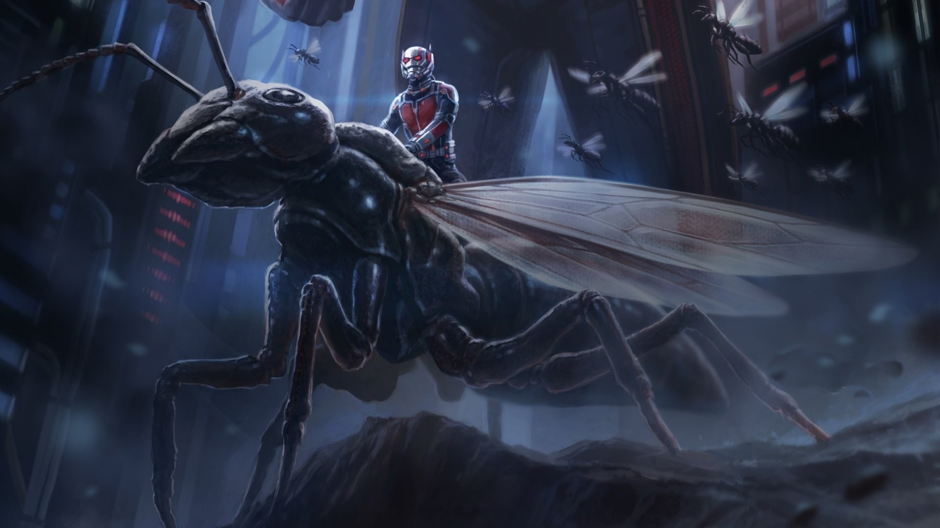 ant man picture marvel comic