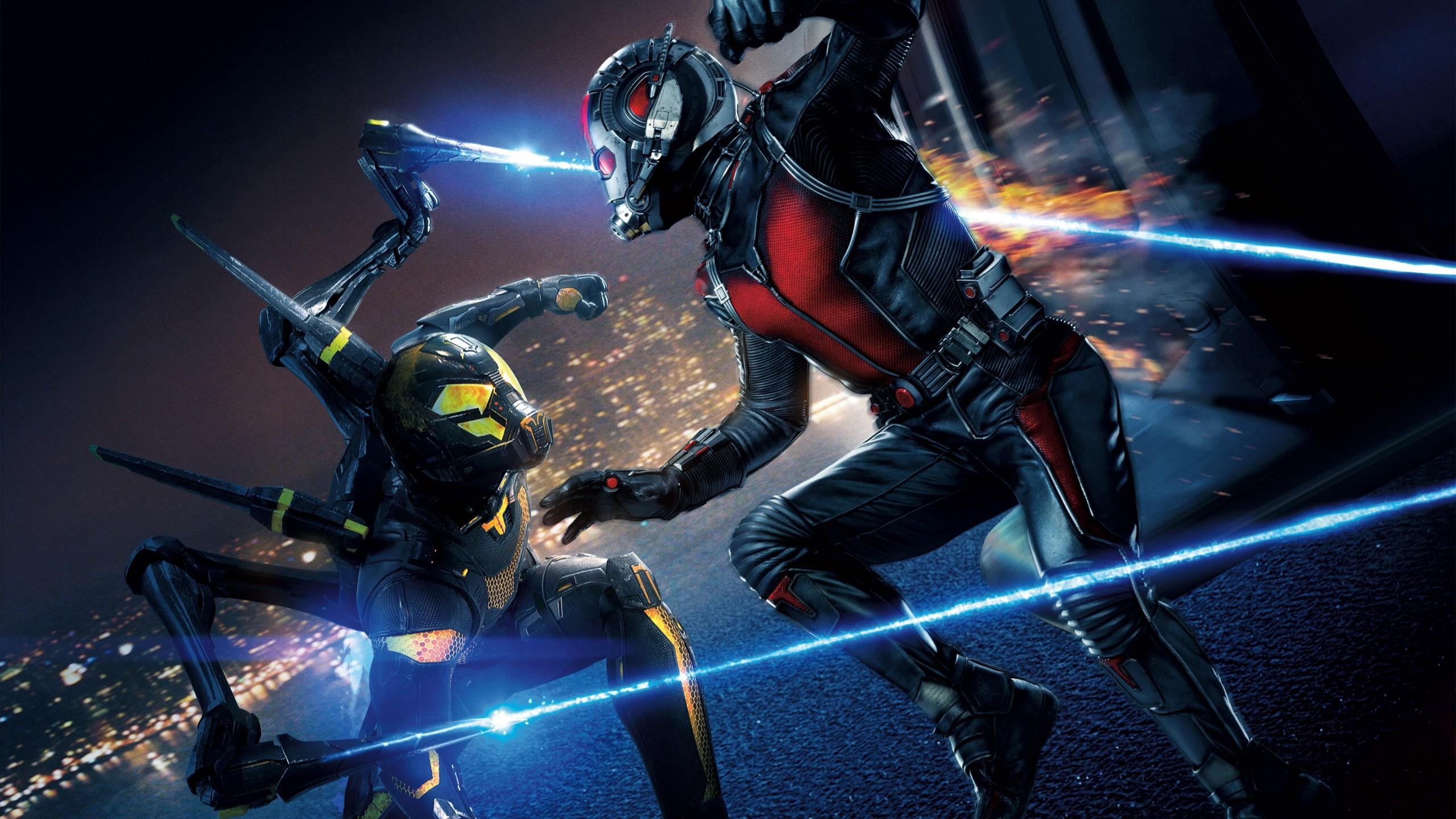 ant man yellow jacket marvel super hero hd wallpaper