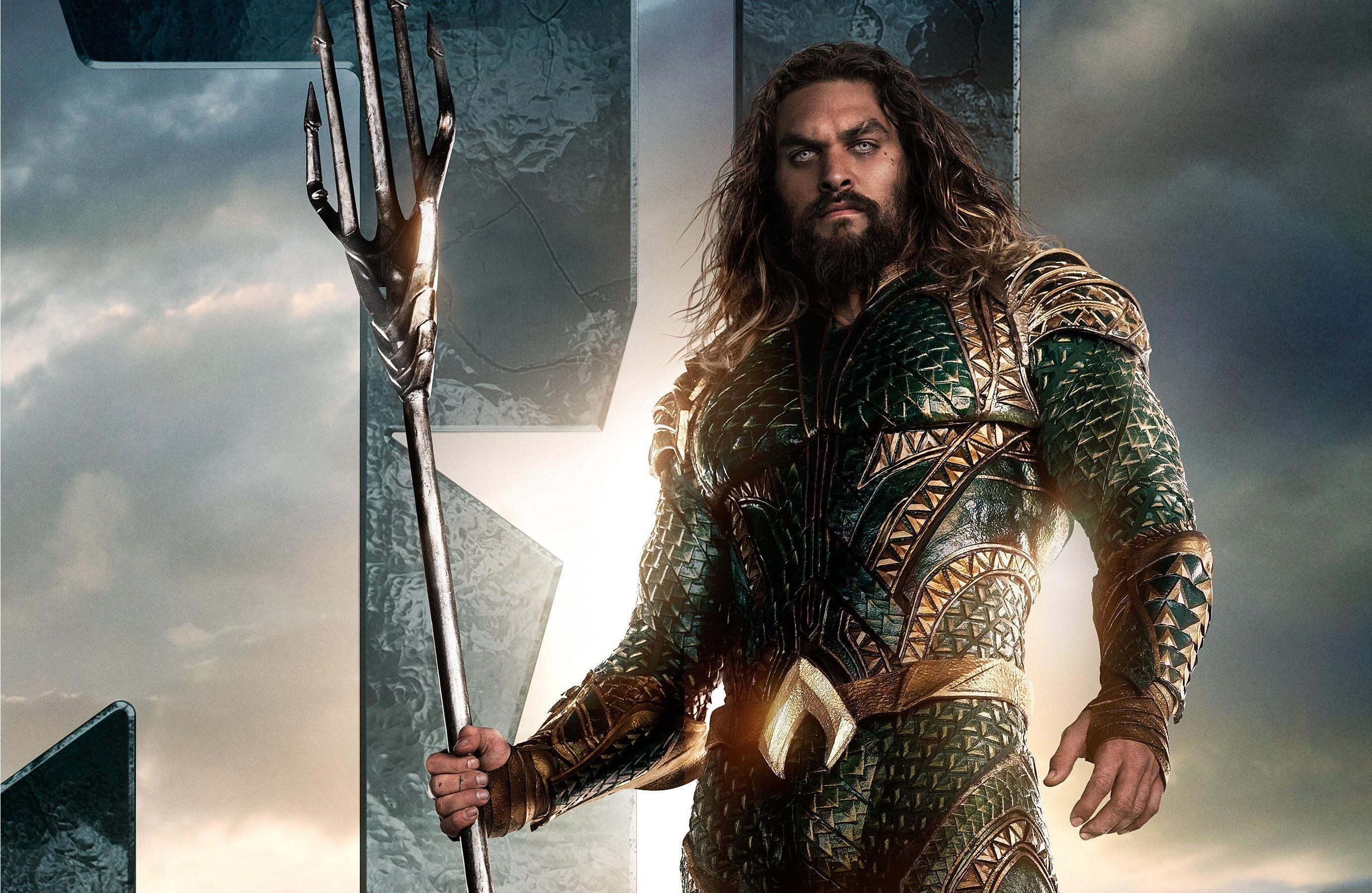 aqua man jason momoa poster dc comics pc hd wallpaper