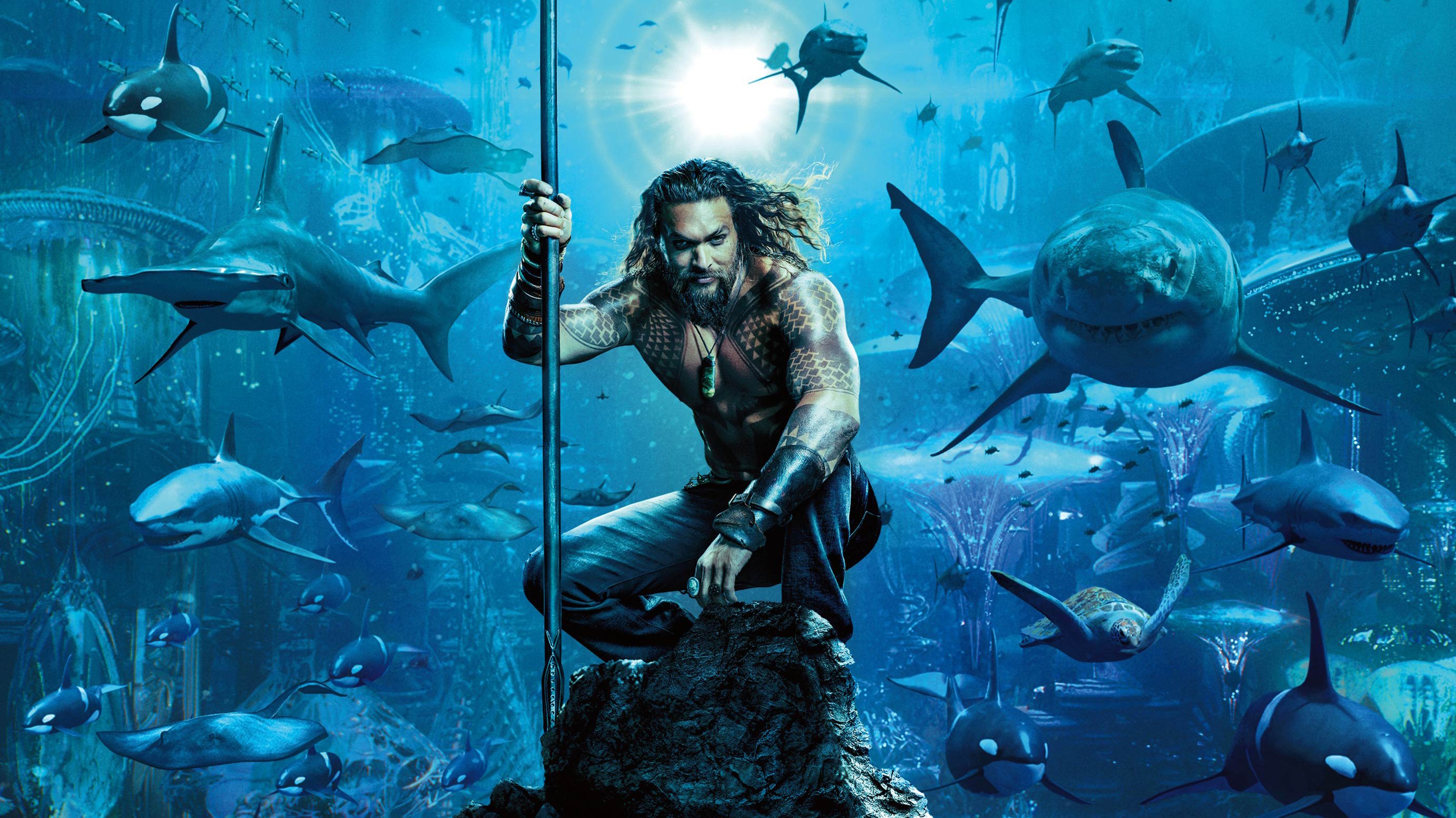 aqua man movie jason momoa poster dc comics pc hd wallpaper