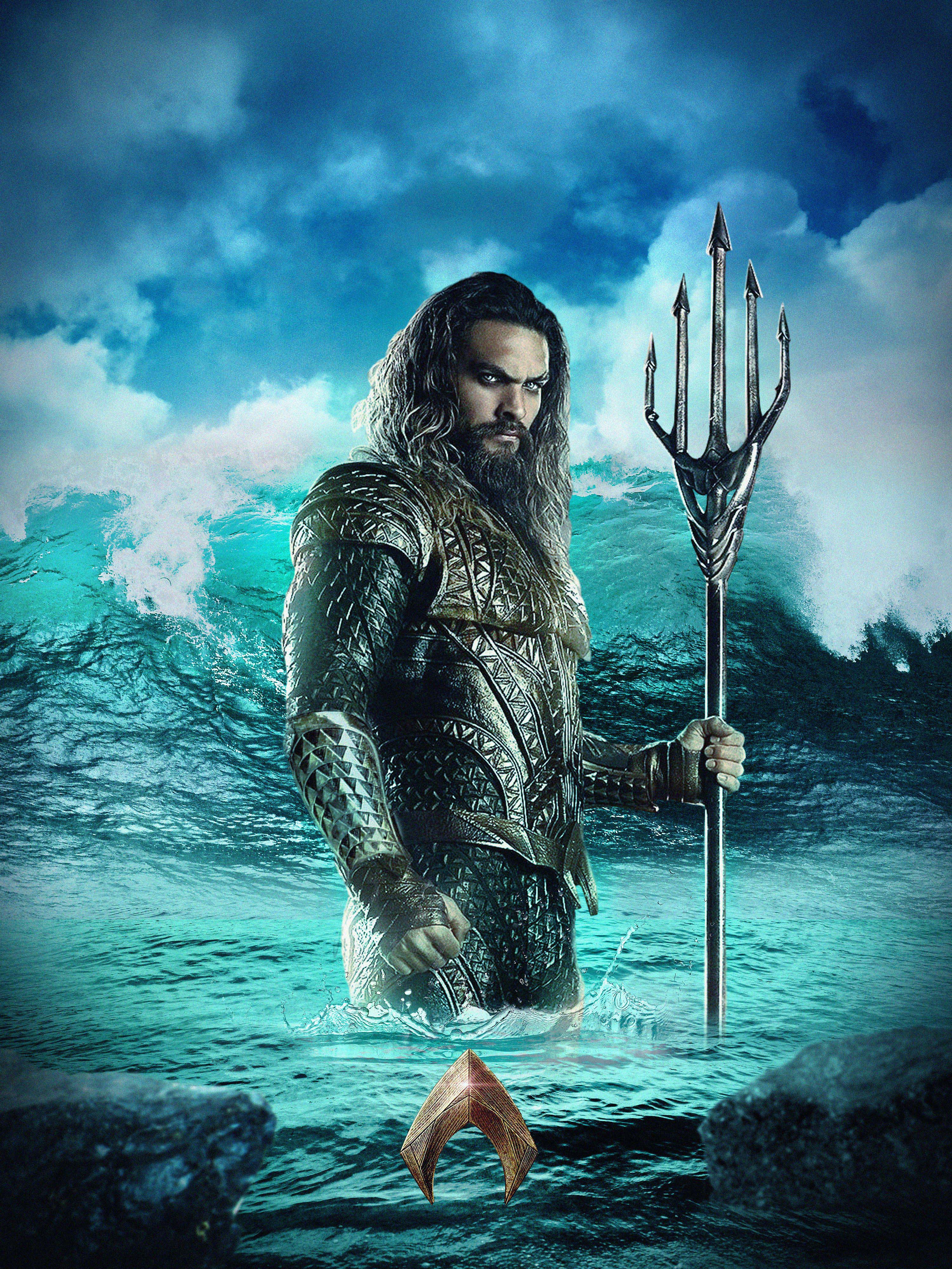 aqua man sea dc comics movie hd pc mobile desktop wallpaper