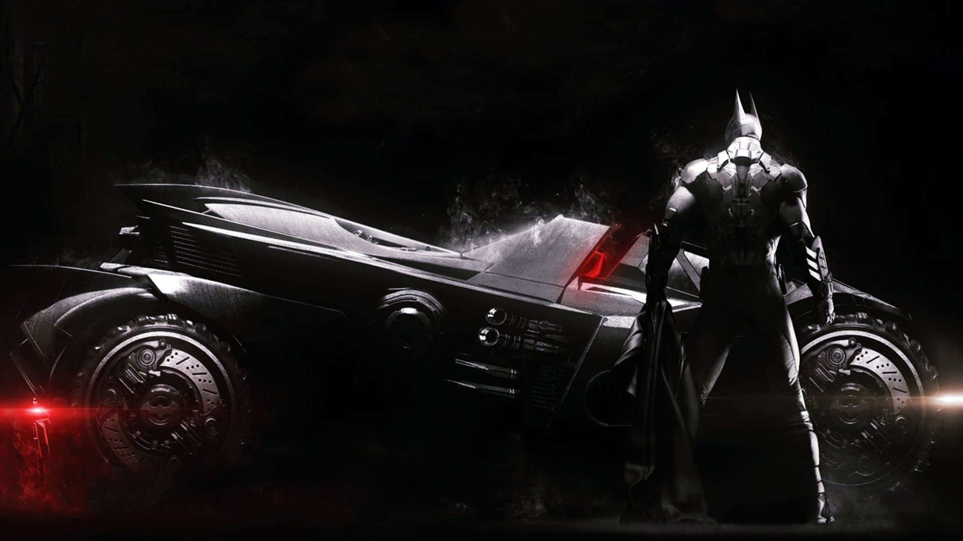 batman car rises