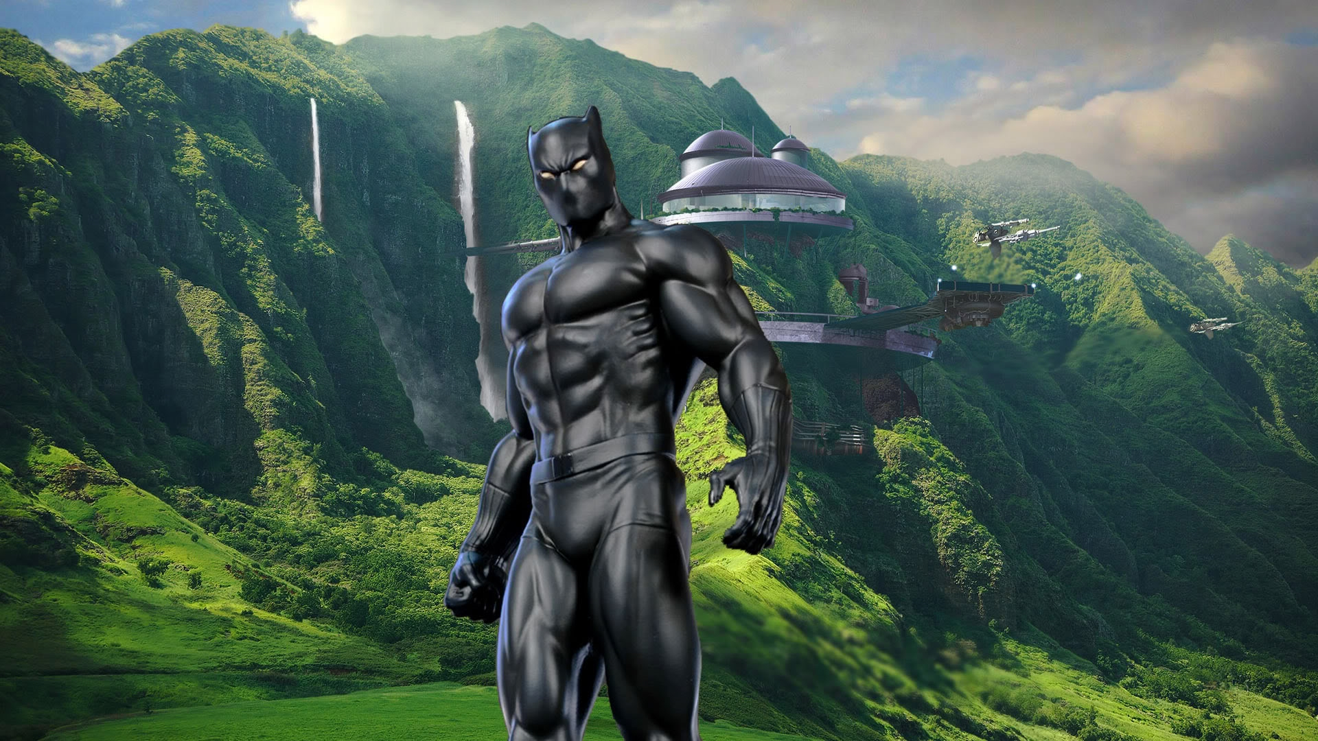 black panther marvel hd