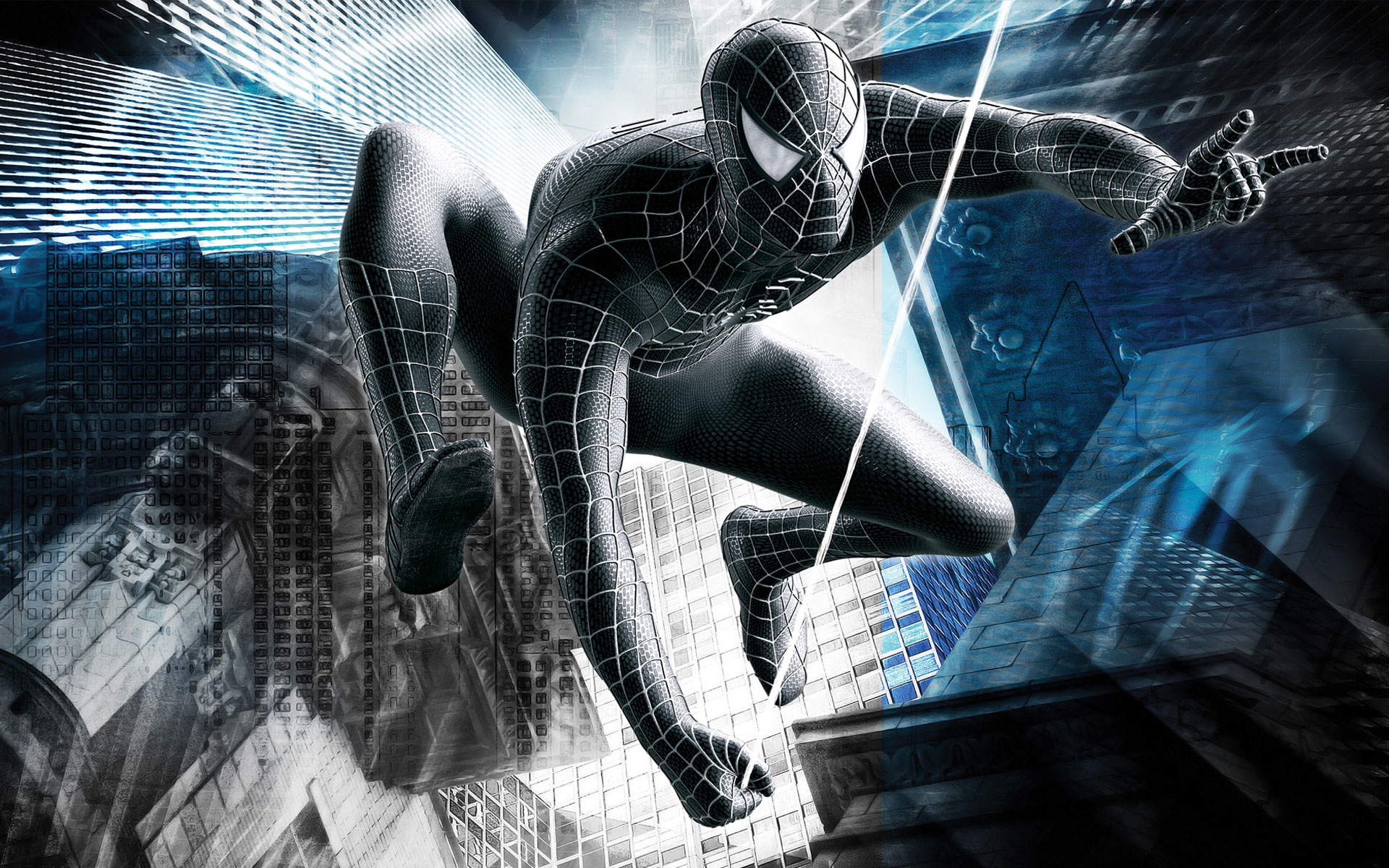 black spiderman hd marvel
