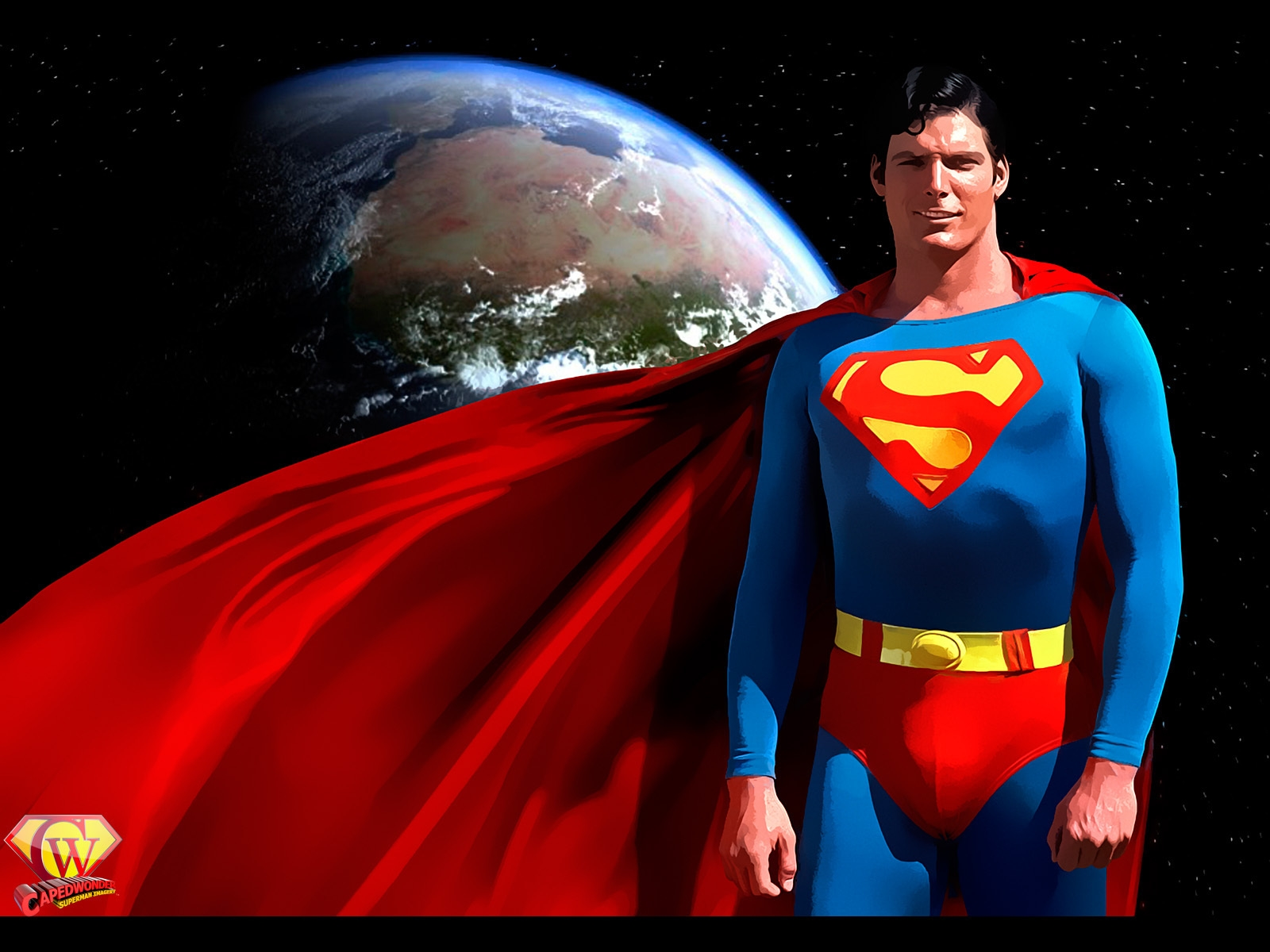 Black Superman World Wallpaper Free Download