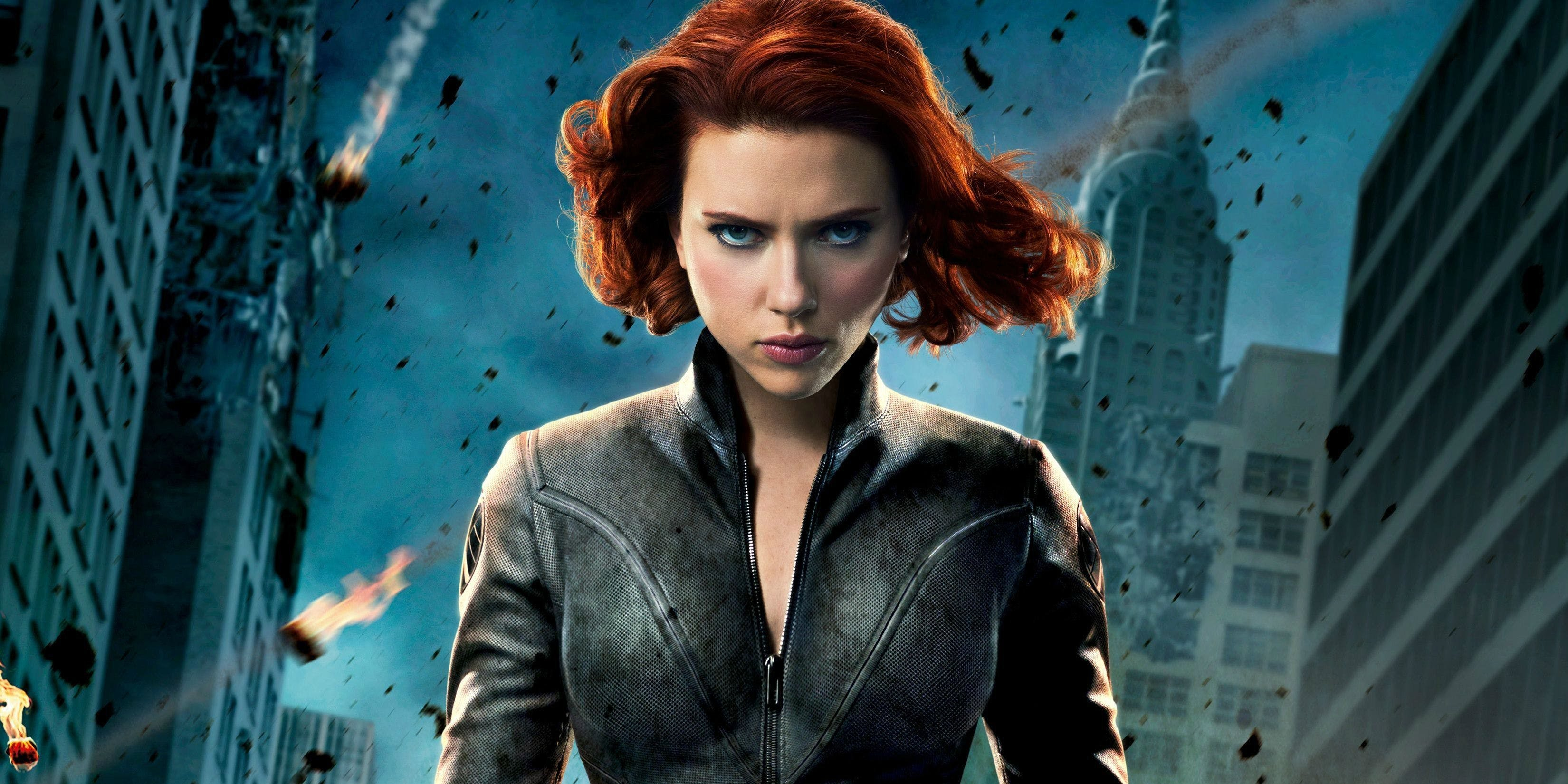 black widow marvel super hero avengers hd wallpaper