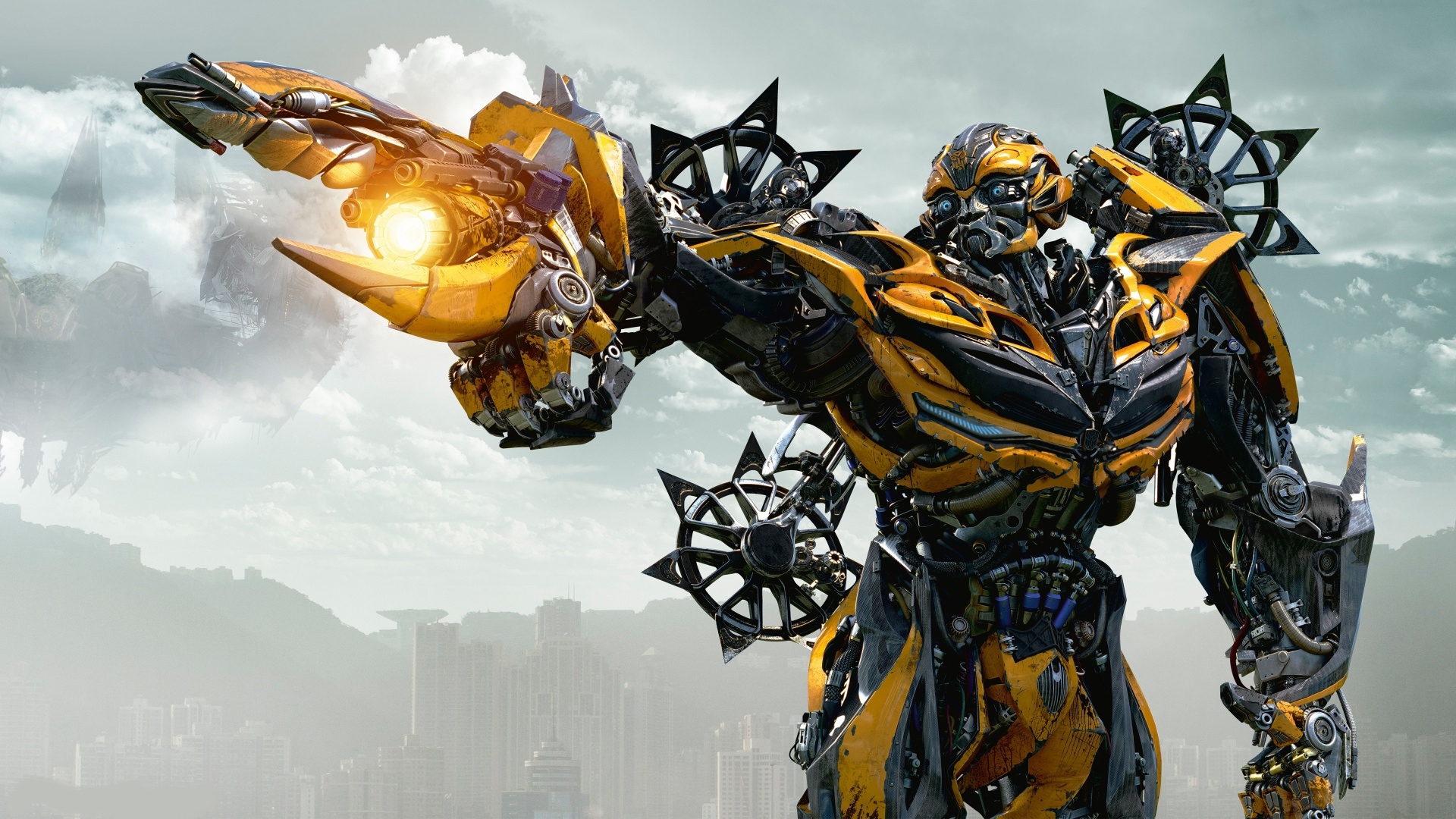 bumblebee free hd wallpaper