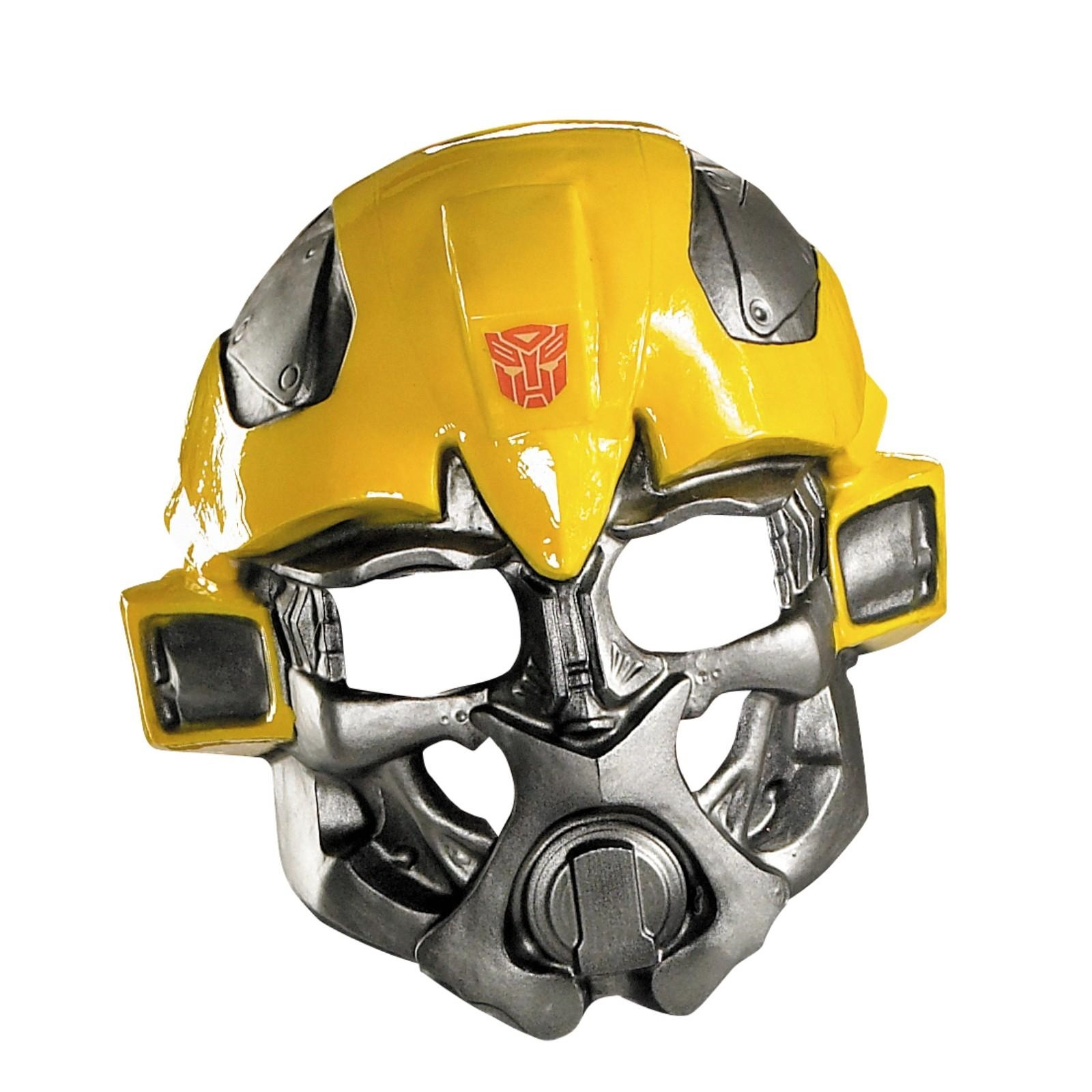 bumblebee transformer face mask helmet