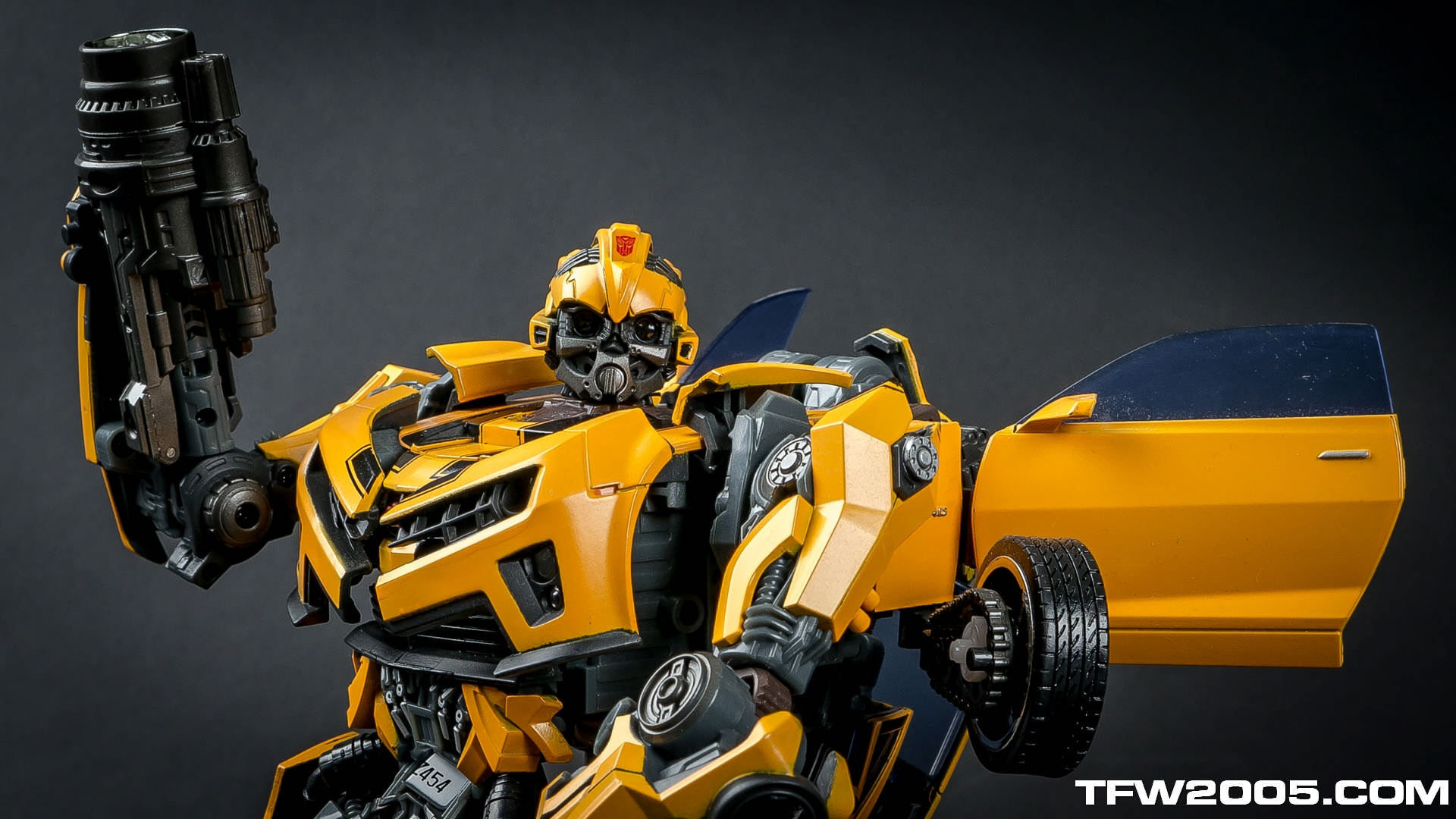 Bumblebee Transformer Face Mask Helmet Hd