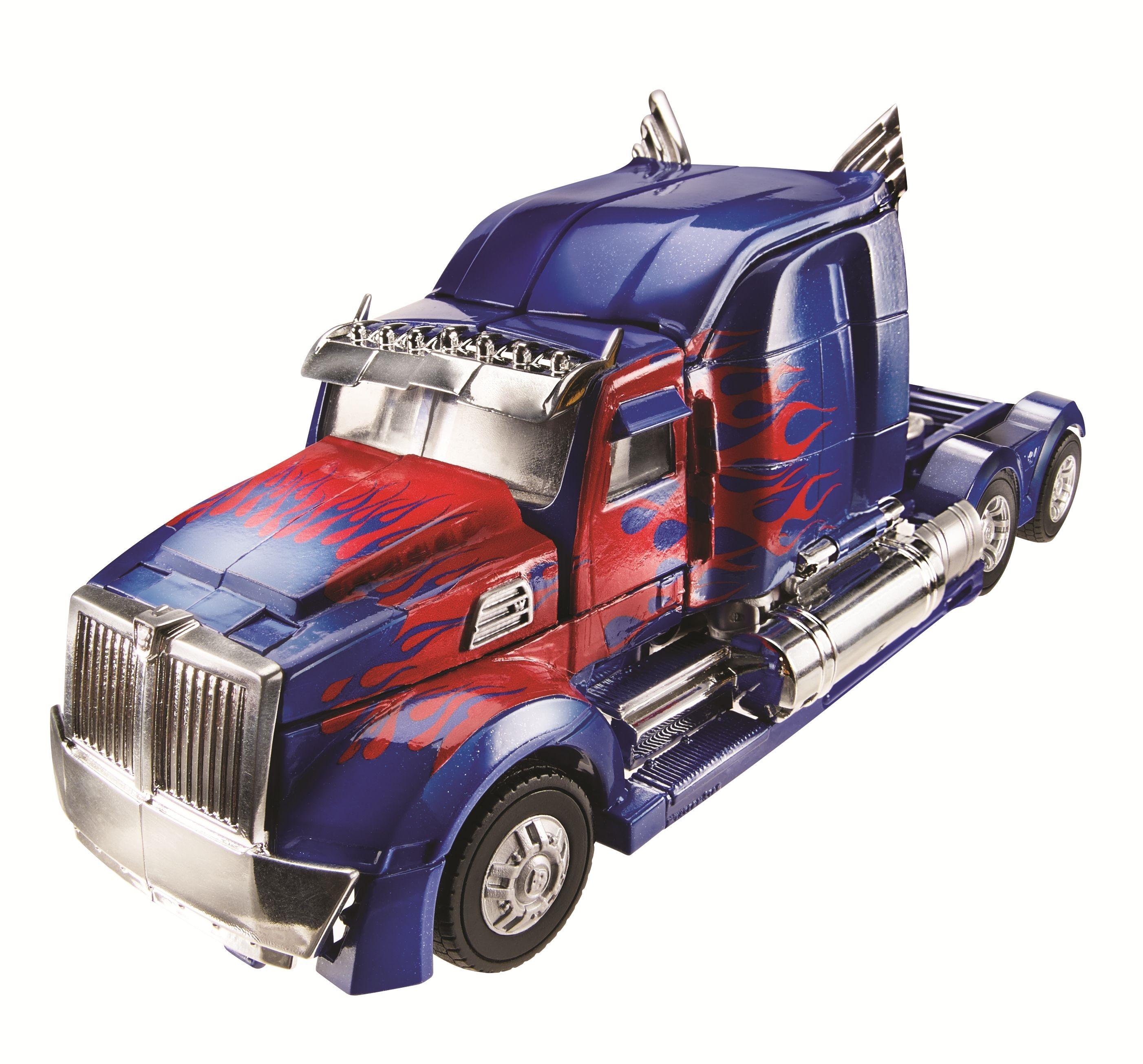 cybertron leader optimus prime vehicle truck