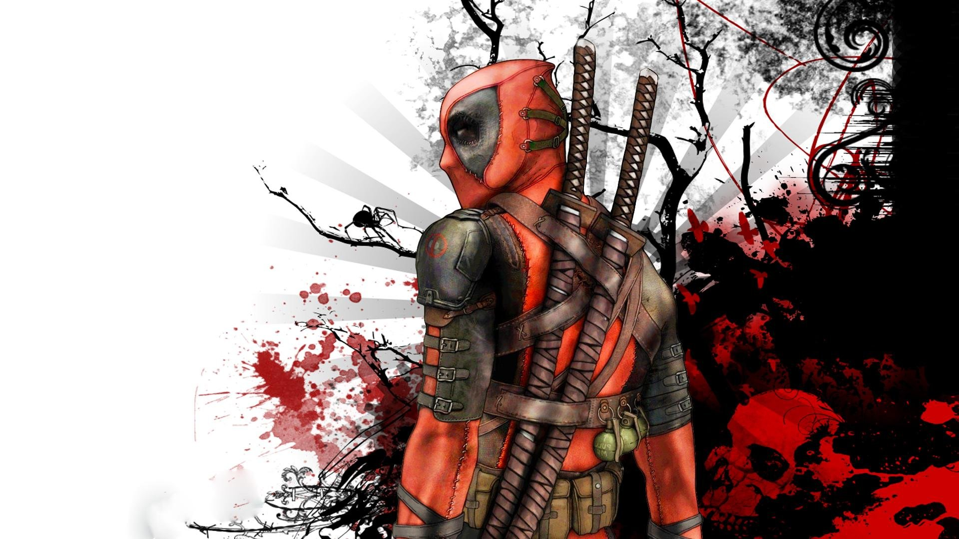 deadpool marvel comics avenger background hd wallpaper