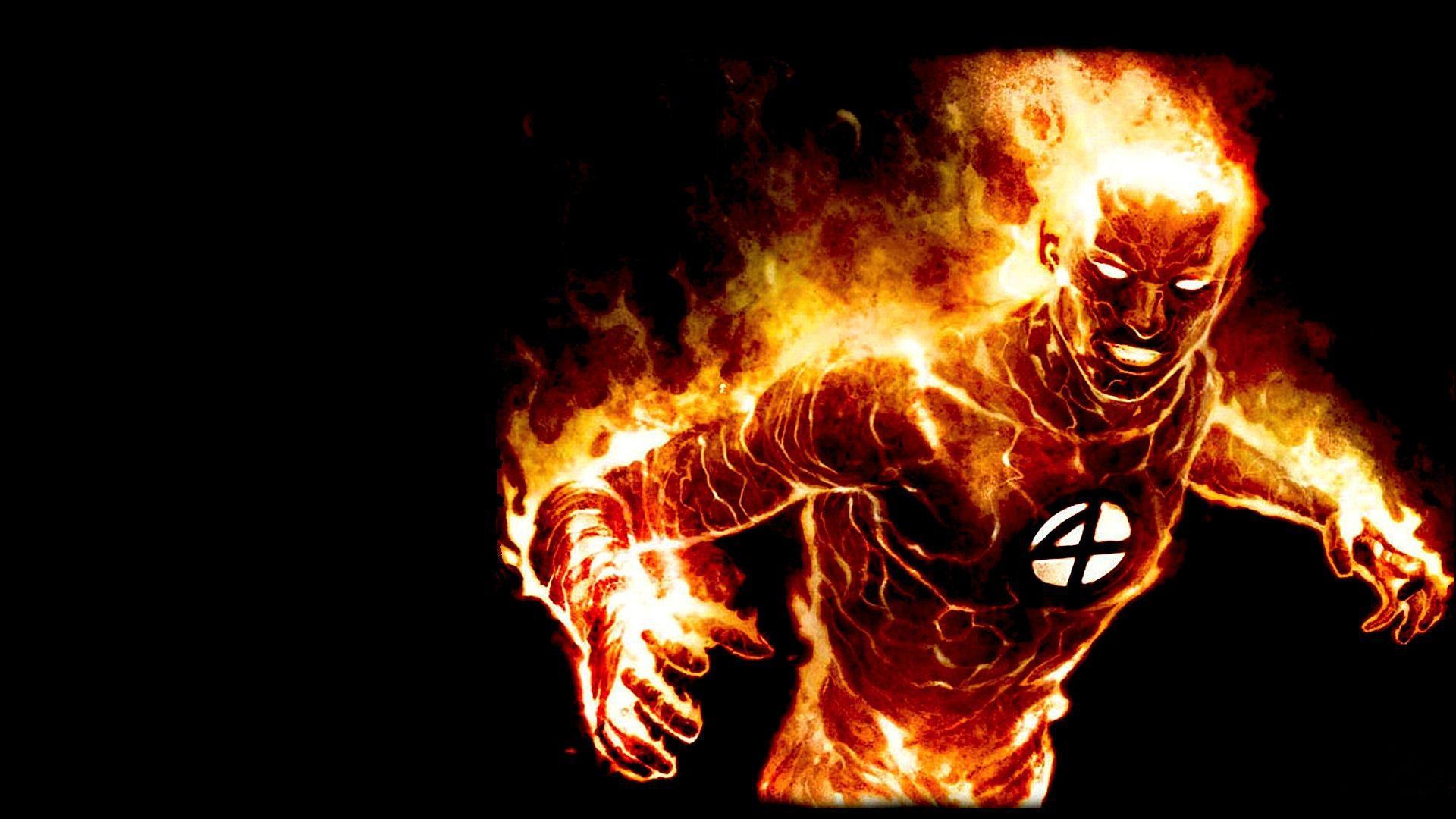 fantastic 4 human torch free hd