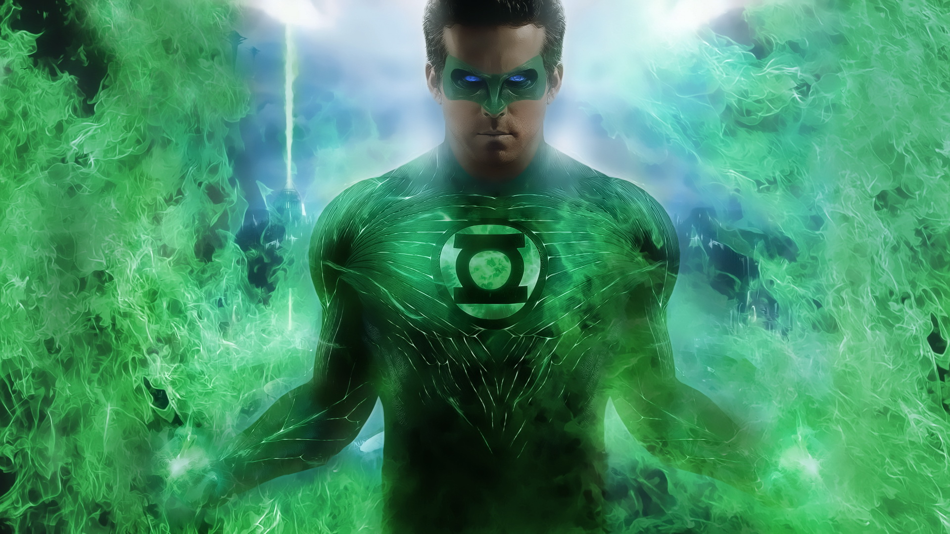 green lantern hal jordan dc comics poster super hero hd wallpaper