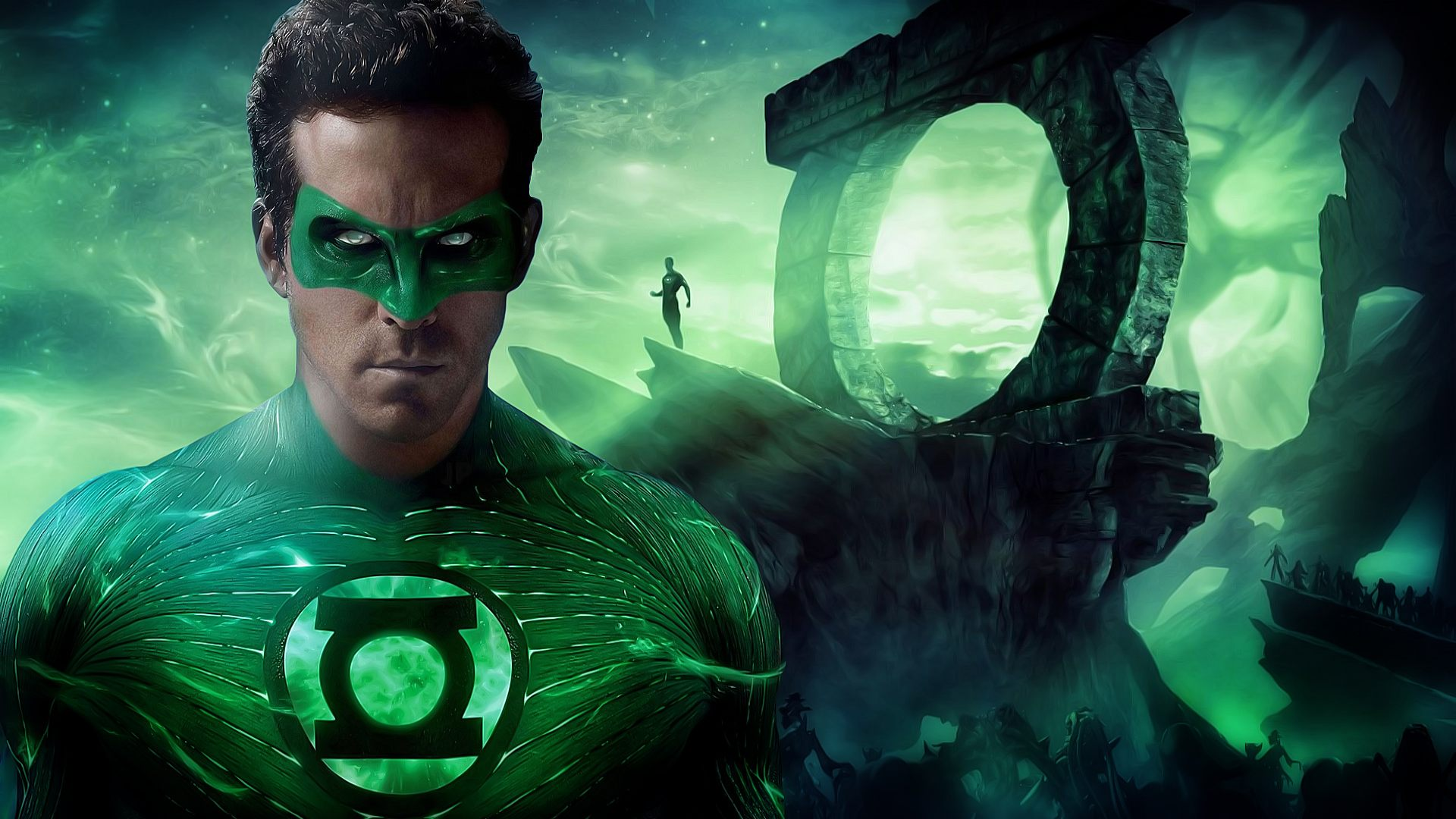 green lantern hal jordan ryan reynolds dc comics super hero hd wallpaper