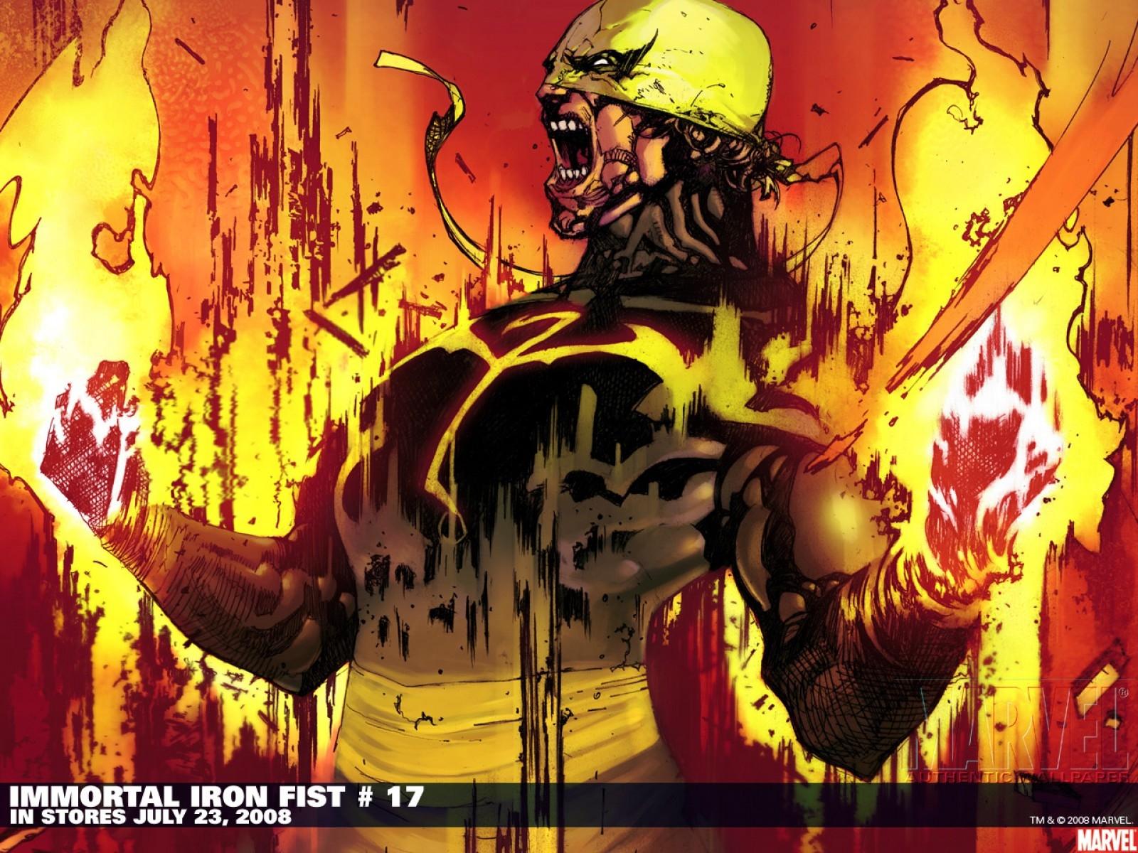 immortal iron fist desktop wallpaper